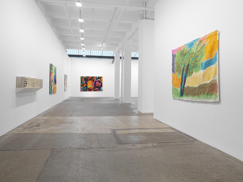 Installation view 1, Galerie Lelong & Co., Etel Adnan: Seasons, October 29 – December 19, 2020. Courtesy Galerie Lelong & Co., New York.
