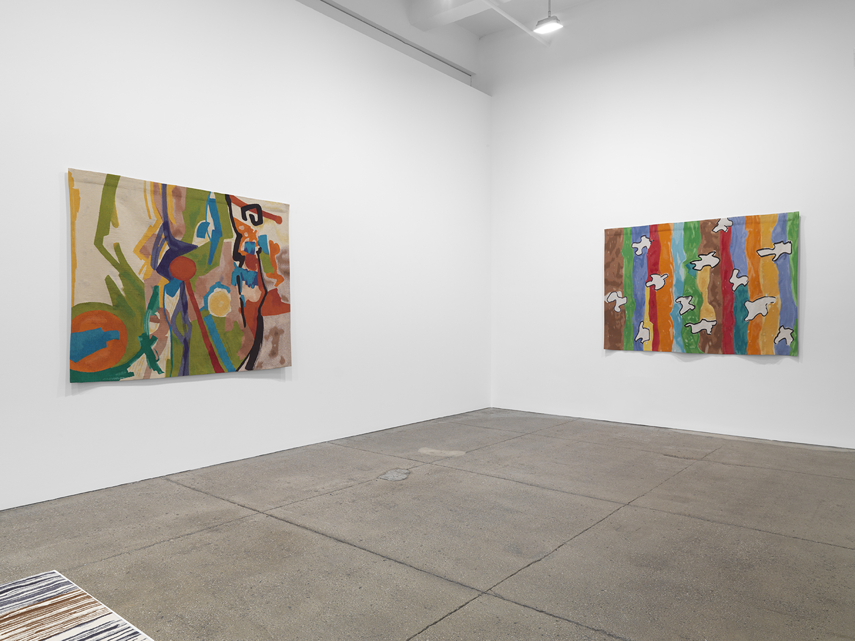 Installation view 4, Galerie Lelong & Co., Etel Adnan: Seasons, October 29 – December 19, 2020. Courtesy Galerie Lelong & Co., New York.
