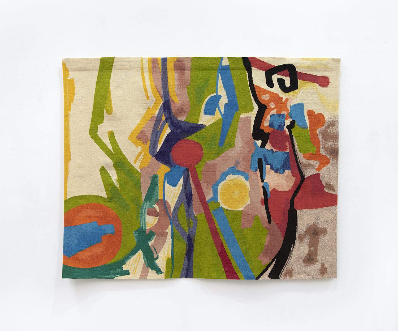 Vignoble, 2018 Tapestry, © Etel Adnan