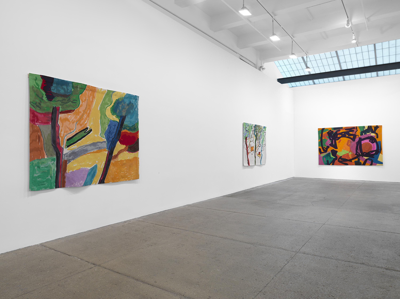 Installation view 2, Galerie Lelong & Co., Etel Adnan: Seasons, October 29 – December 19, 2020. Courtesy Galerie Lelong & Co., New York.