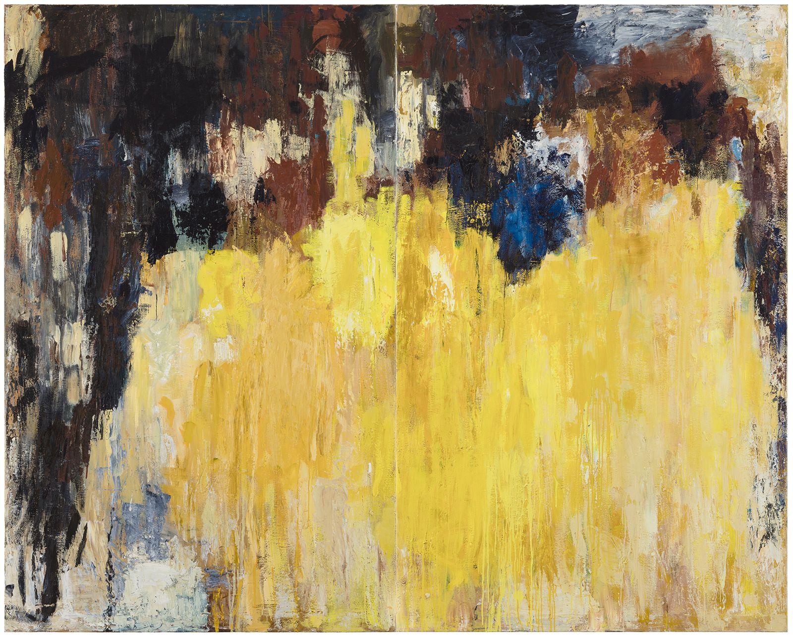 Muistojen vesiputous, 1998 & 2020, Oil on Canvas, Courtesy of the artist and Galerie Forsblom