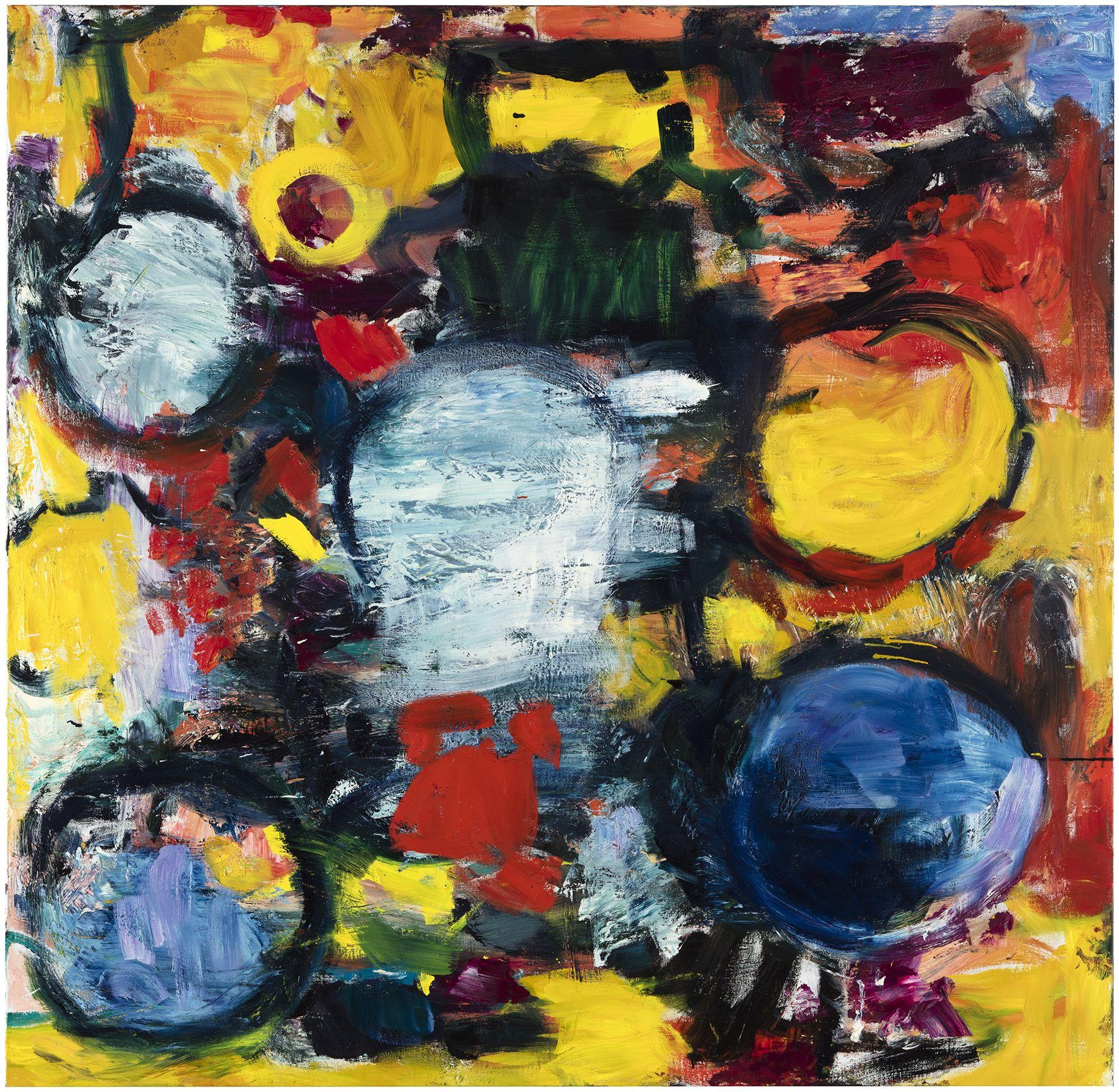 Kipinöitä, 2020, Oil on Canvas, Courtesy of the artist and Galerie Forsblom