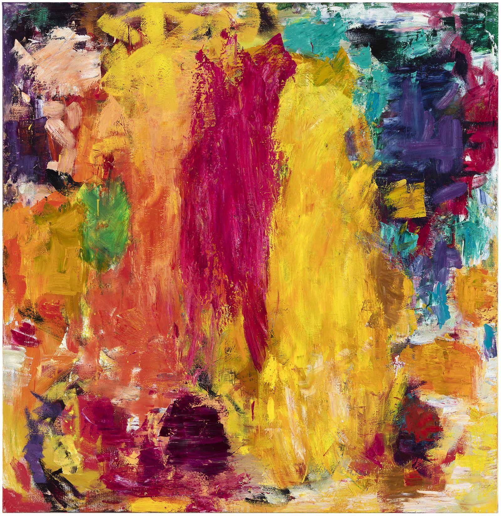 Kultakukka, 2020, Oil on Canvas, Courtesy of the artist and Galerie Forsblom