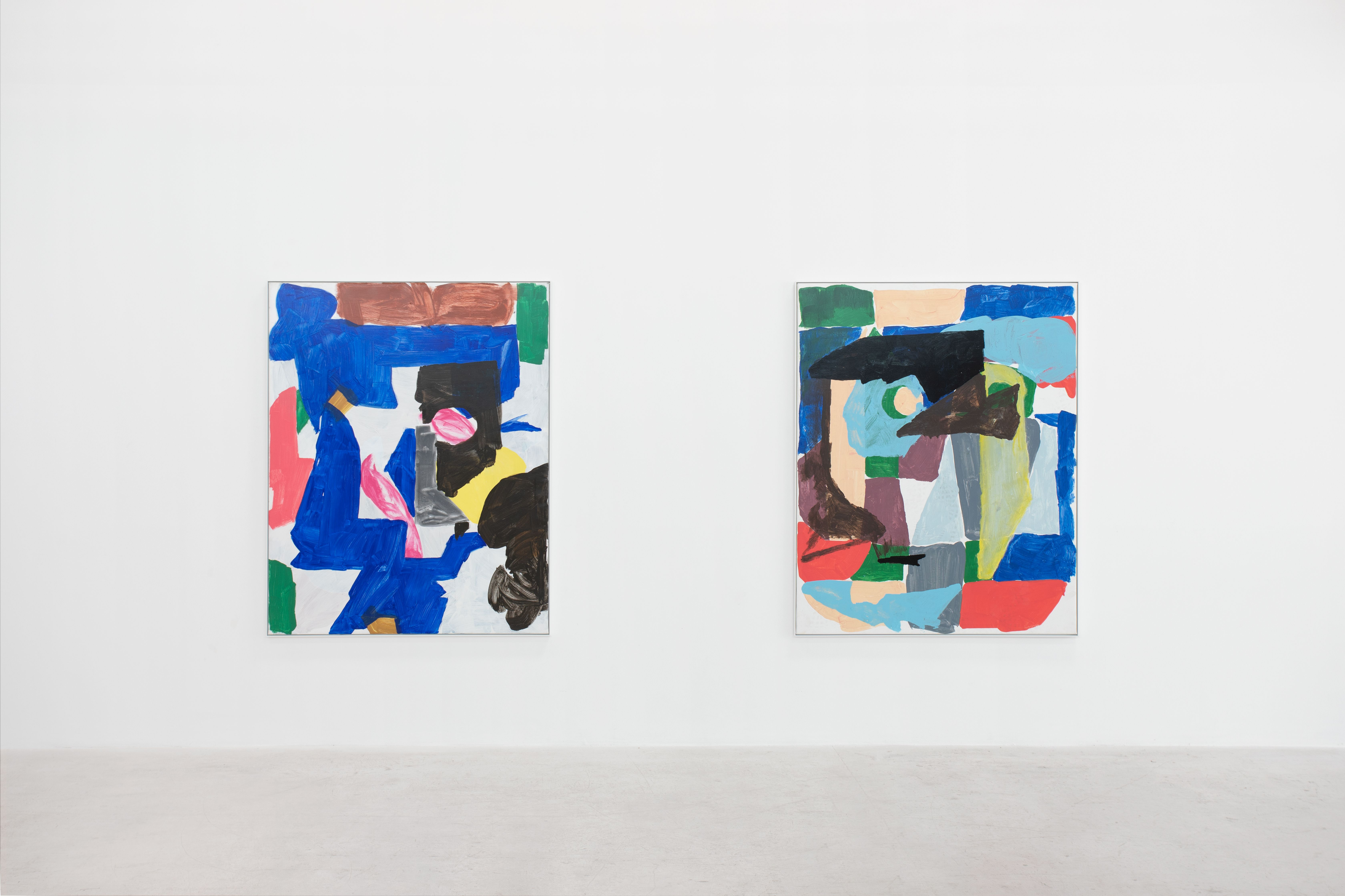 """""""Boat Races and Fizzogs"""", solo exhibition by Kes Richardson. Installation view at L21. Photography by Natasha Lebedeva"""