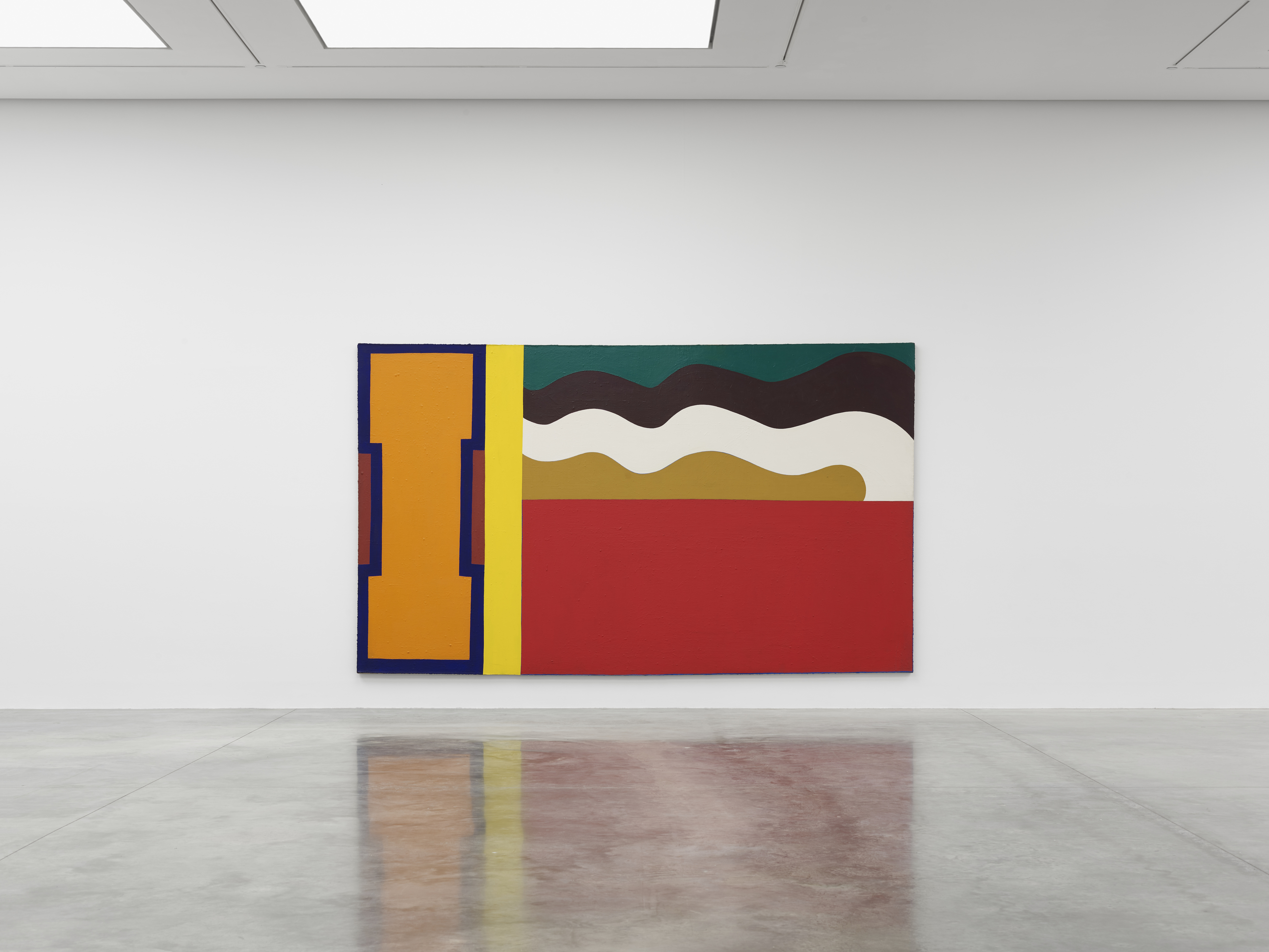 Installation view 1, 'Al Held: The Sixties' © the artist. Photo © White Cube (Theo Christelis)