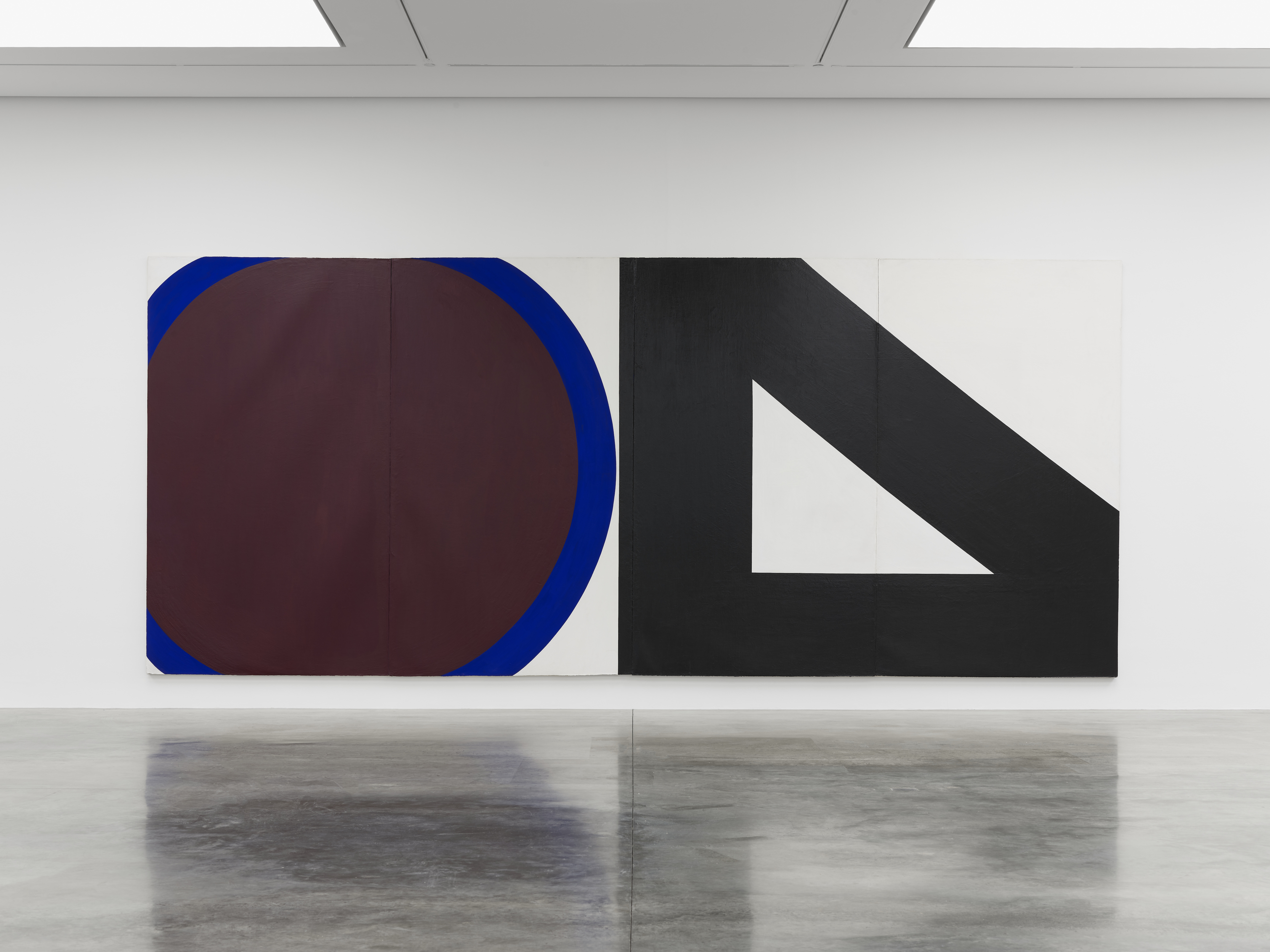 Installation view 2, 'Al Held: The Sixties' © the artist. Photo © White Cube (Theo Christelis)