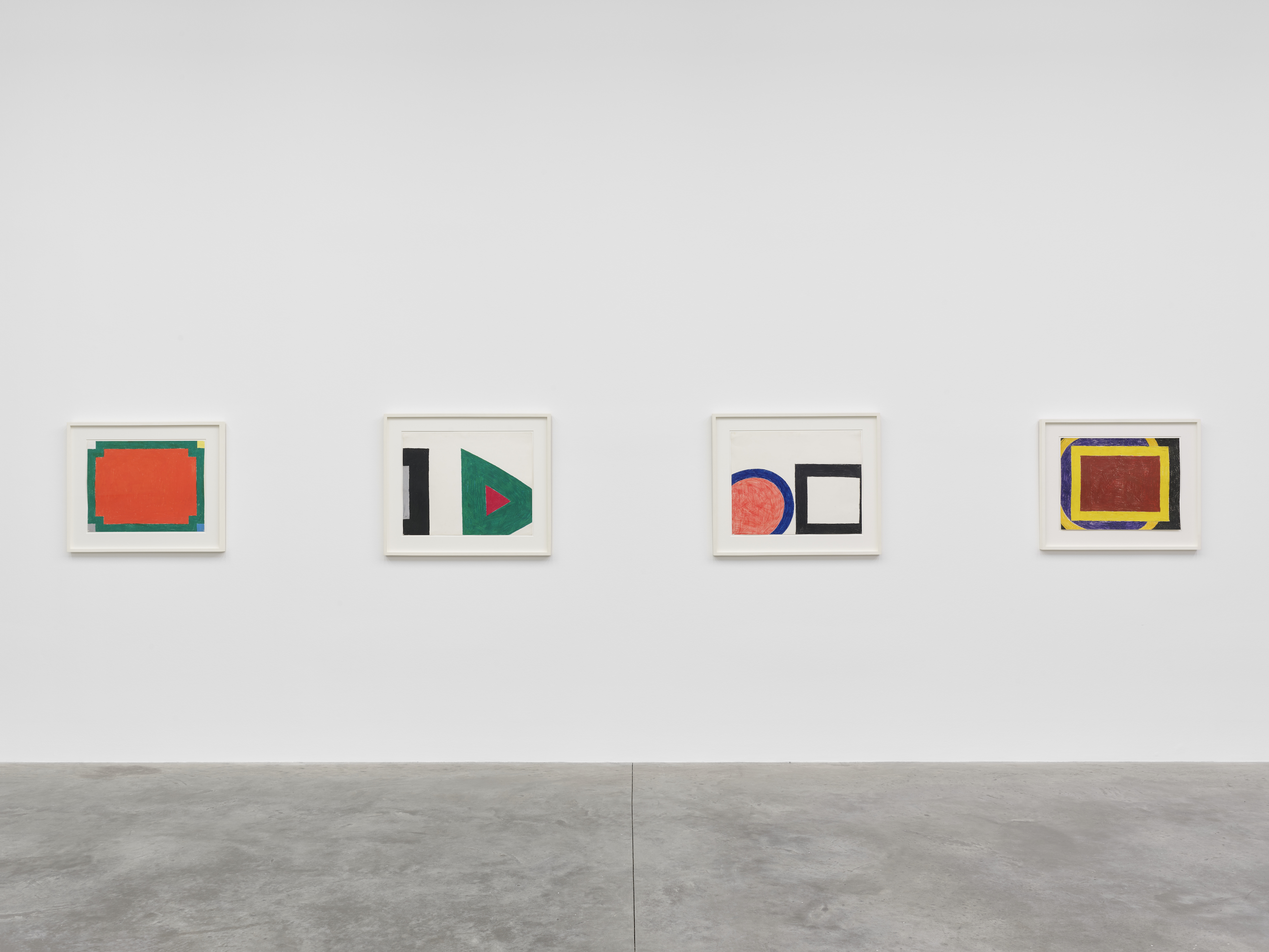 Installation view 5, 'Al Held: The Sixties' © the artist. Photo © White Cube (Theo Christelis)