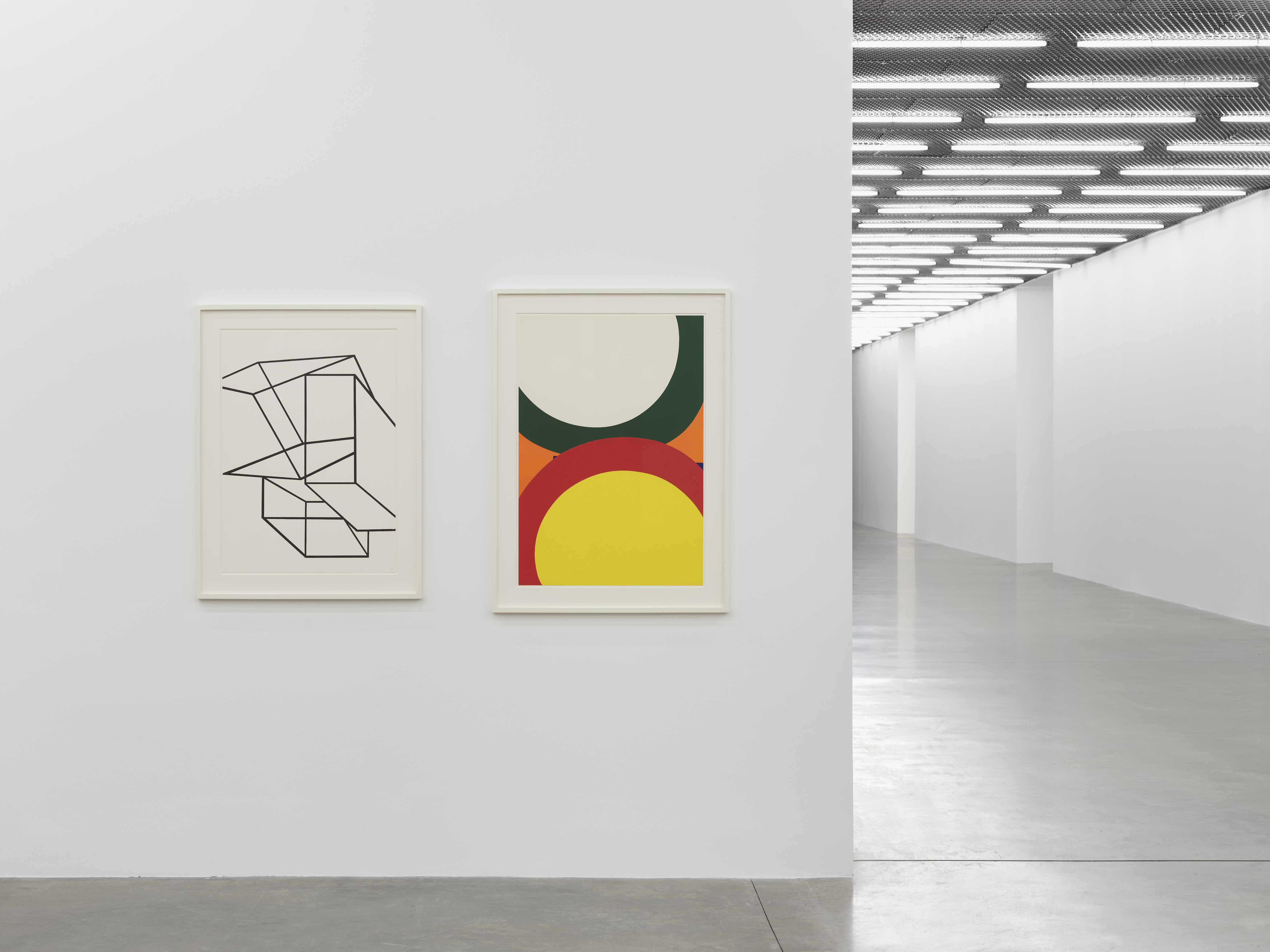Installation view 6, 'Al Held: The Sixties' © the artist. Photo © White Cube (Theo Christelis)
