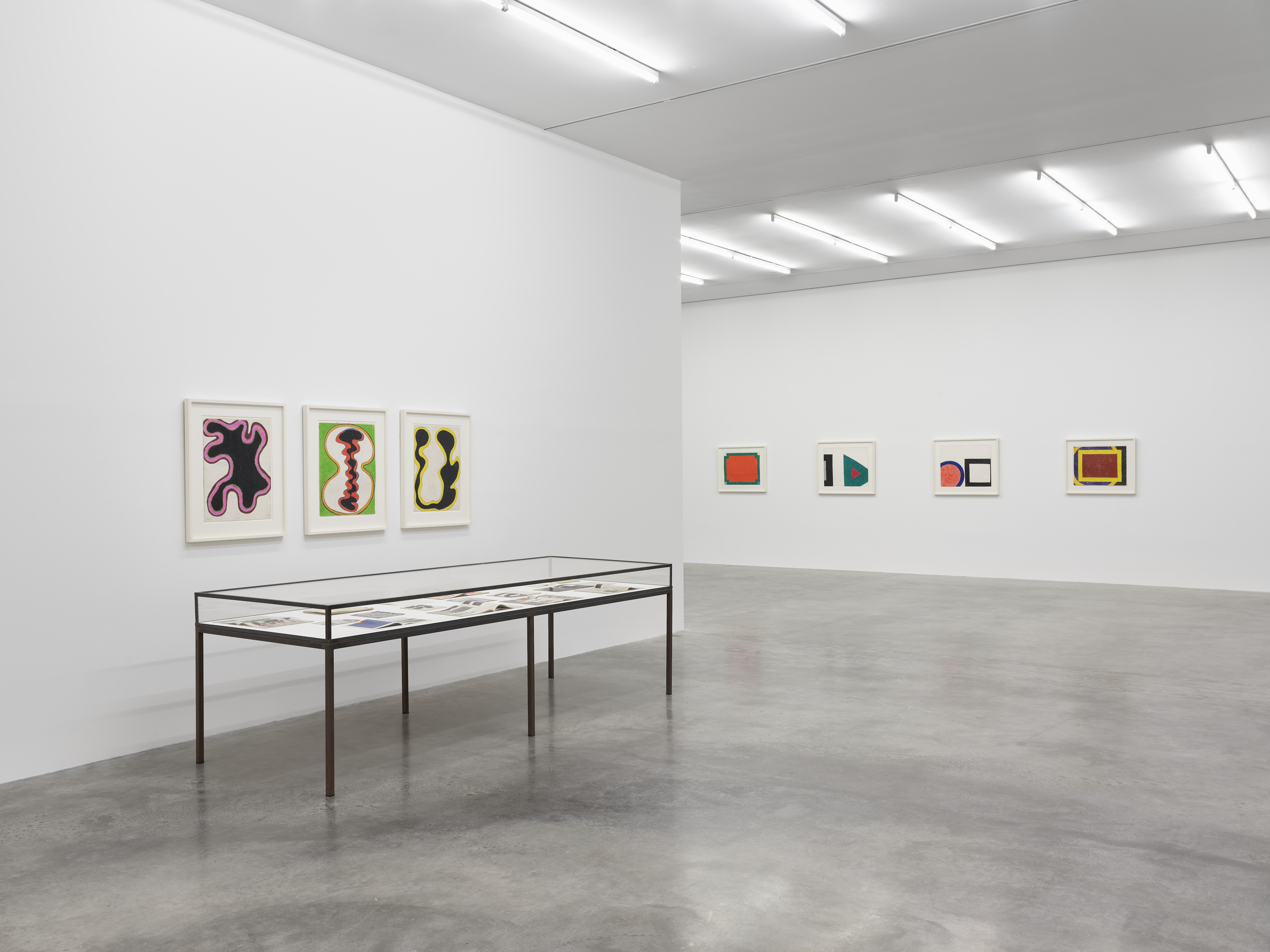 Installation view 7, 'Al Held: The Sixties' © the artist. Photo © White Cube (Theo Christelis)