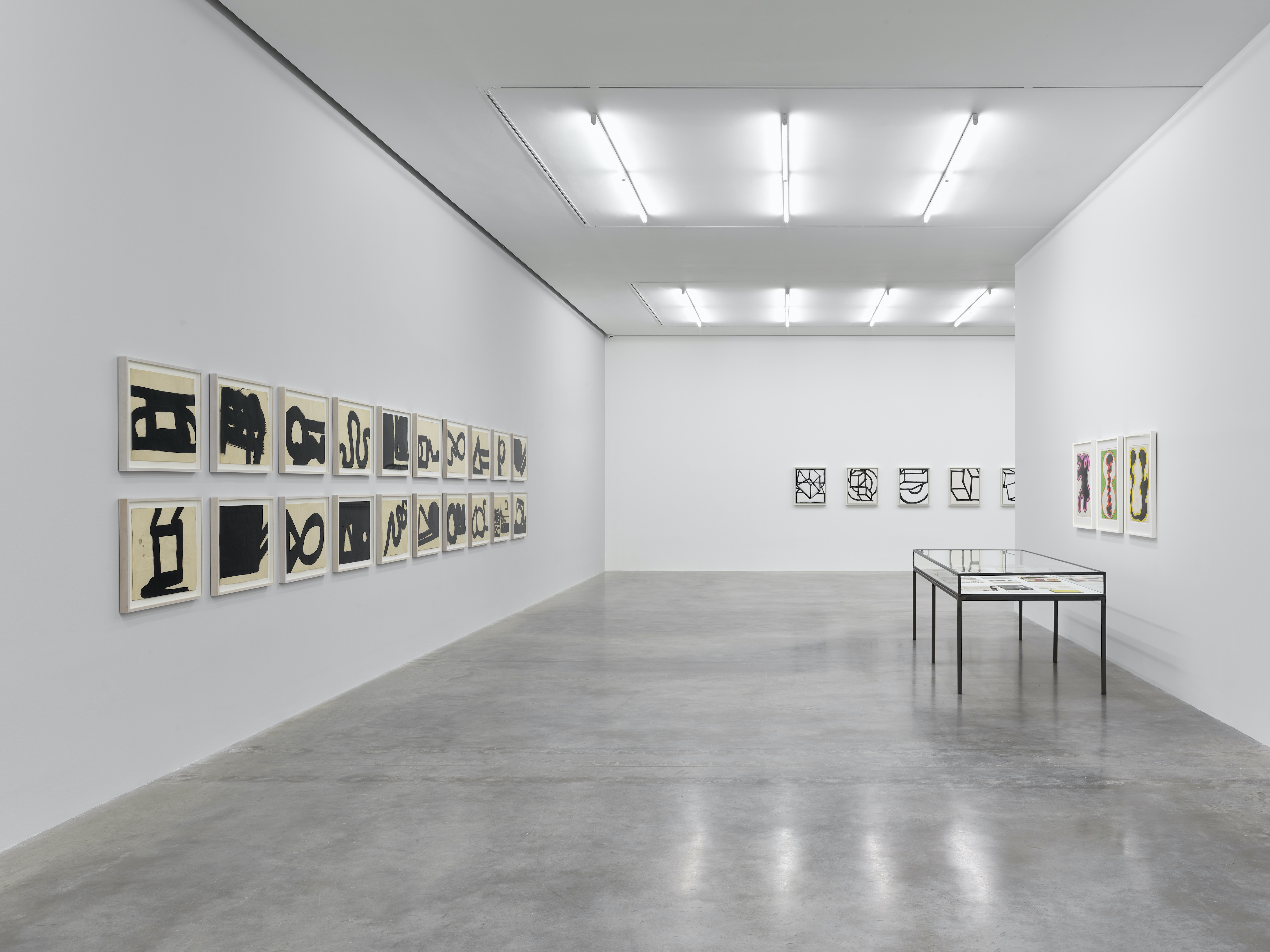 Installation view 8, 'Al Held: The Sixties' © the artist. Photo © White Cube (Theo Christelis)