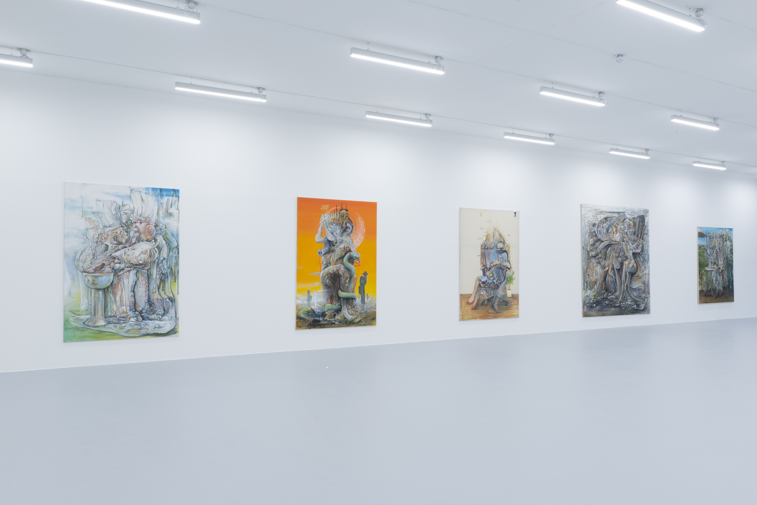 Installation view 1, Pascal Sender at Saatchi Yates, 2020, Courtesy of the artist and Saatchi Yates