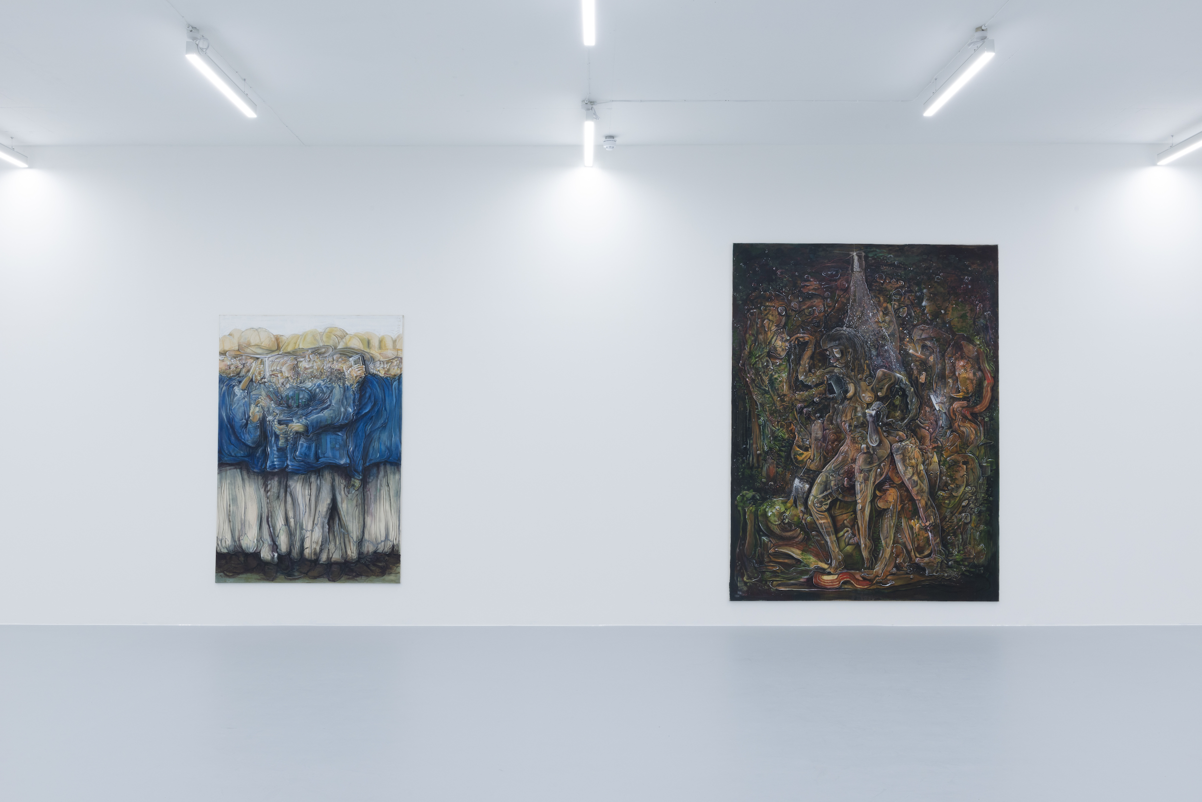 Installation view 2, Pascal Sender at Saatchi Yates, 2020, Courtesy of the artist and Saatchi Yates