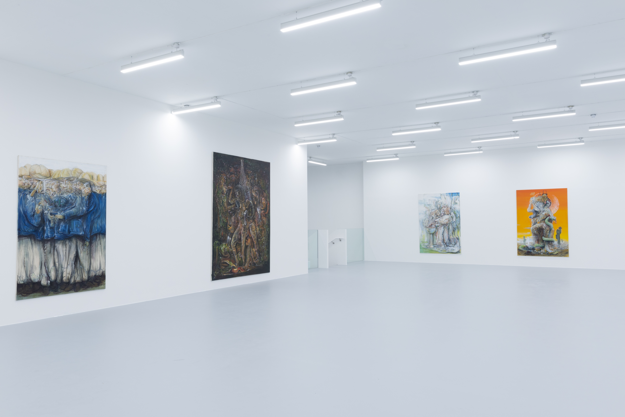 Installation view 6, Pascal Sender at Saatchi Yates, 2020, Courtesy of the artist and Saatchi Yates