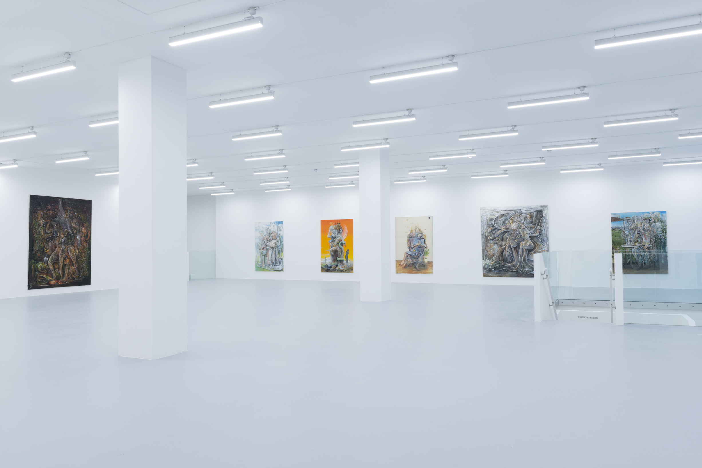 Installation view 7, Pascal Sender at Saatchi Yates, 2020, Courtesy of the artist and Saatchi Yates