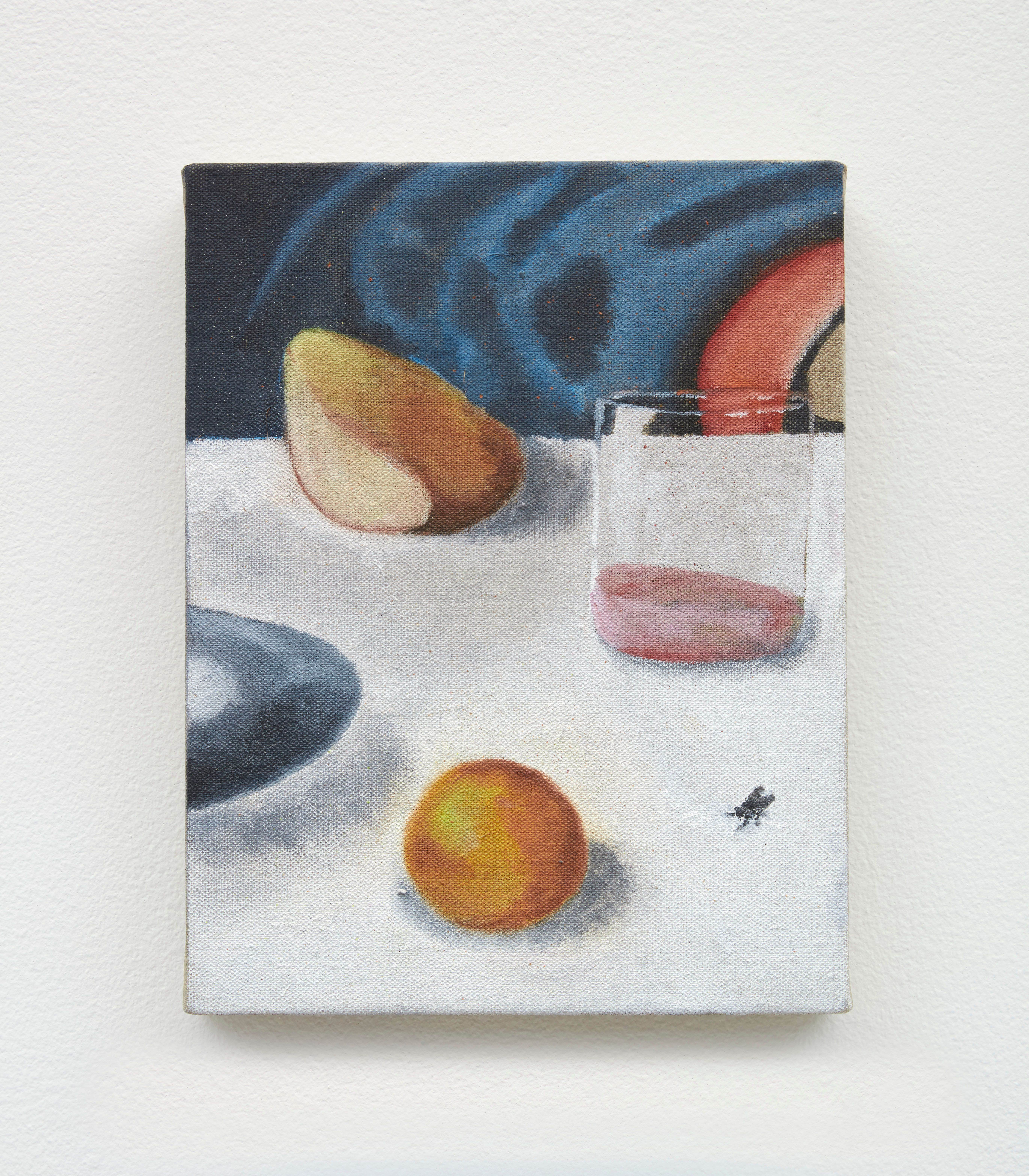 Supper, 2020 Oil on linen 11 x 8.5 inches 27.94 x 21.59 cm