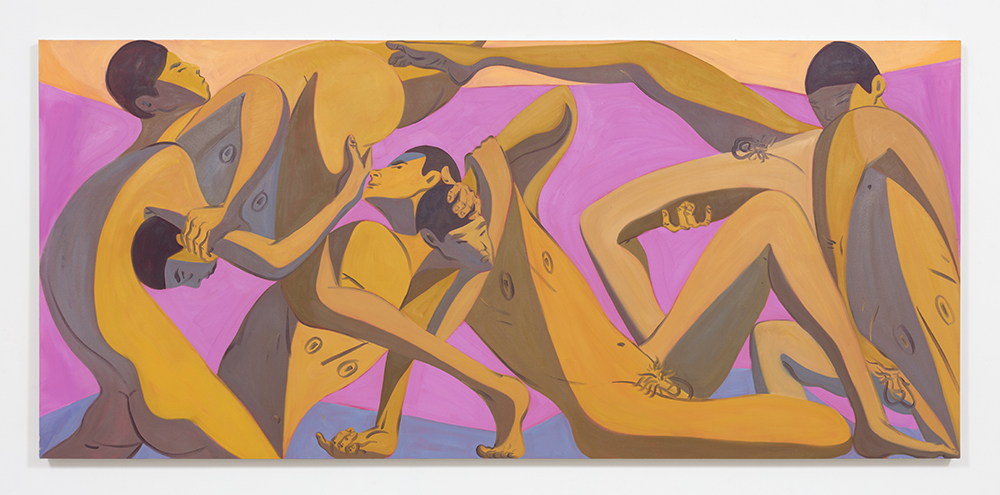 Mark Yang Spring, 2020 Oil on canvas 52 x 120 inches (132.1 x 304.8 cm)