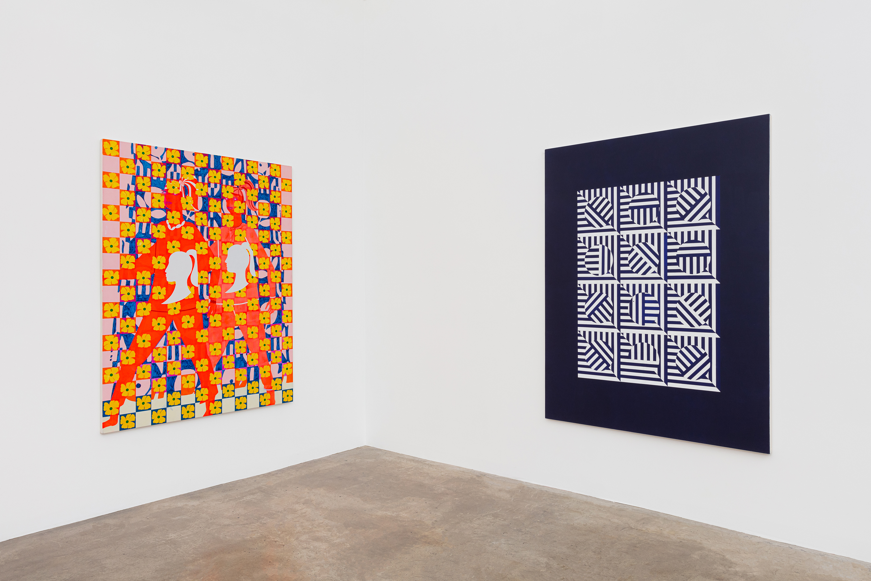 Installation View, Time And Intent, Courtesy of the Artist & Meliksetian | Briggs, Los Angeles. Photo: Evan Bedford.