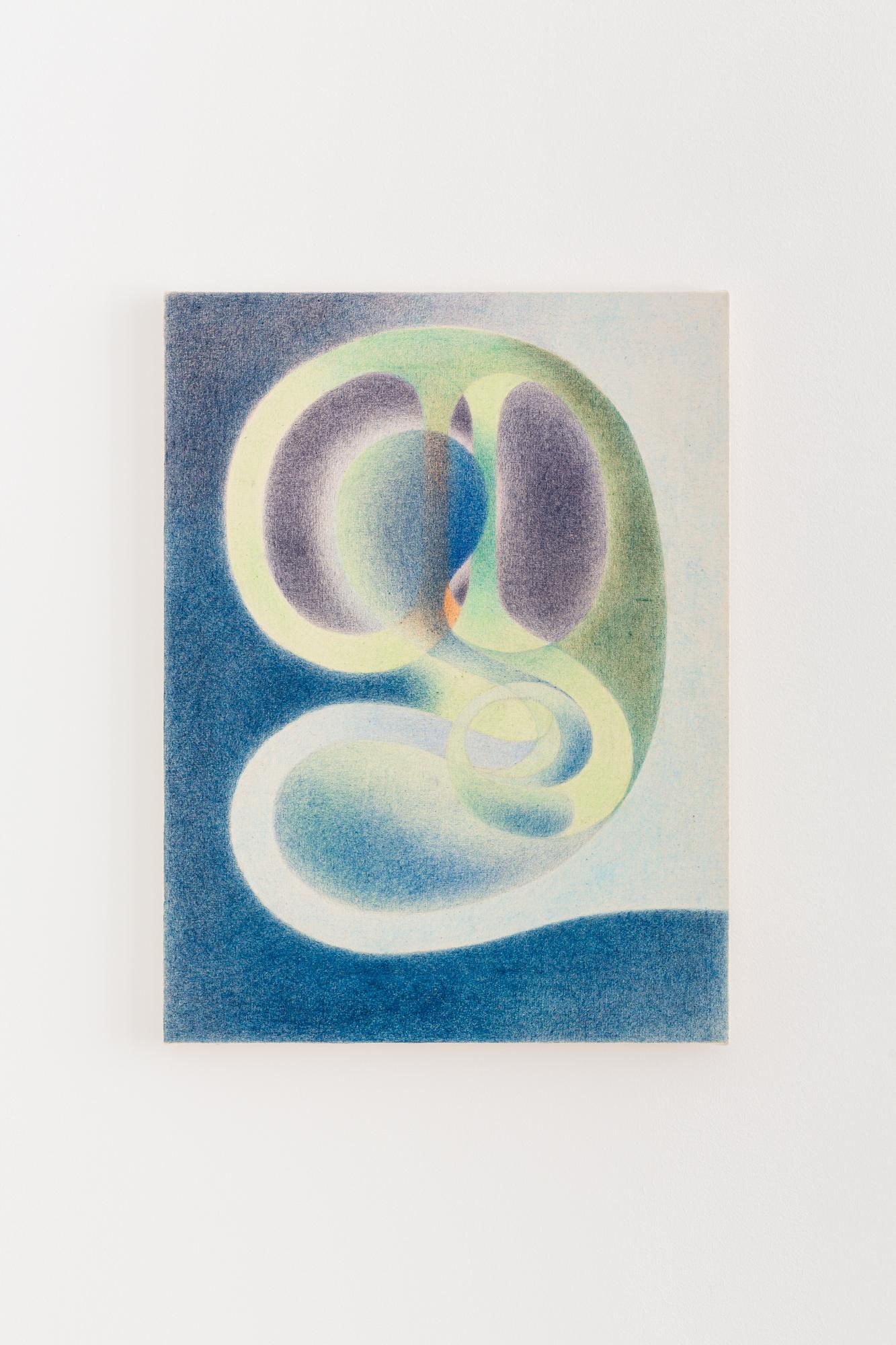 Maren Karlson Viriditas Lápiz sobre lienzo. (48,2x35,5 cm) 2020