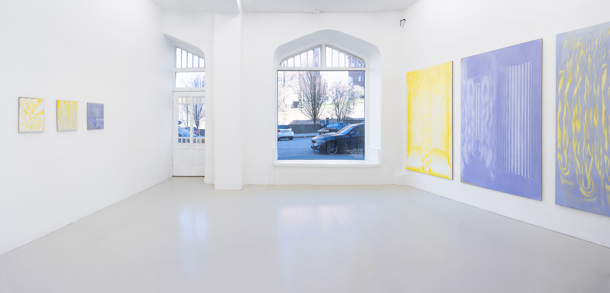 Vika Prokopaviciute, Pale Echo installation view. Courtesy of Vika Prokopaviciute and NEVVEN. Photography by David Eng.