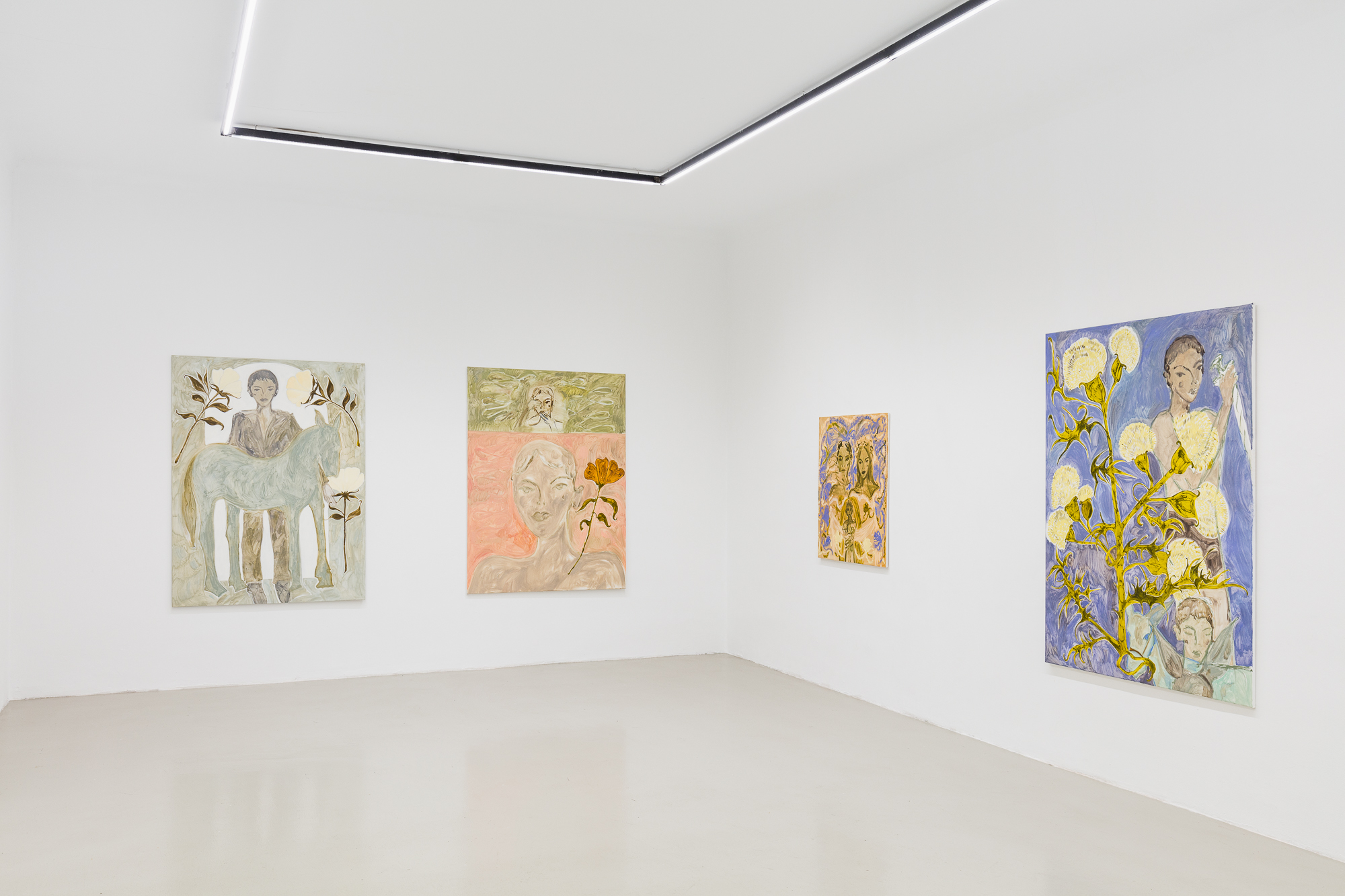 Installation View, Moon - Faye Wei Wei at Galerie Kandlhofer, Courtesy of the artist and the gallery