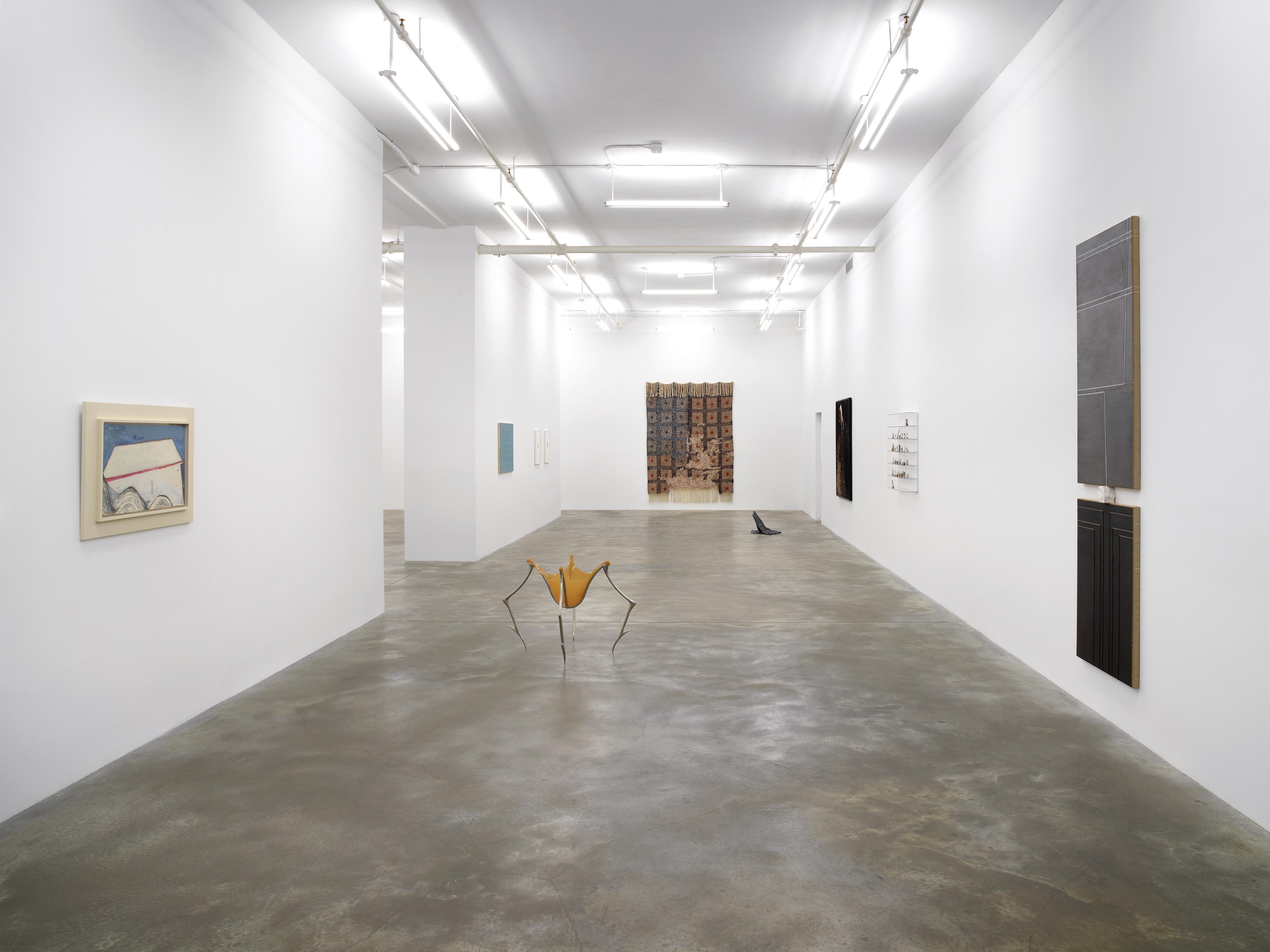 Installation view: Where the Threads Are Worn, March 18 - April 24, 2021, Casey Kaplan, New York, Photo: Dario Lasagni