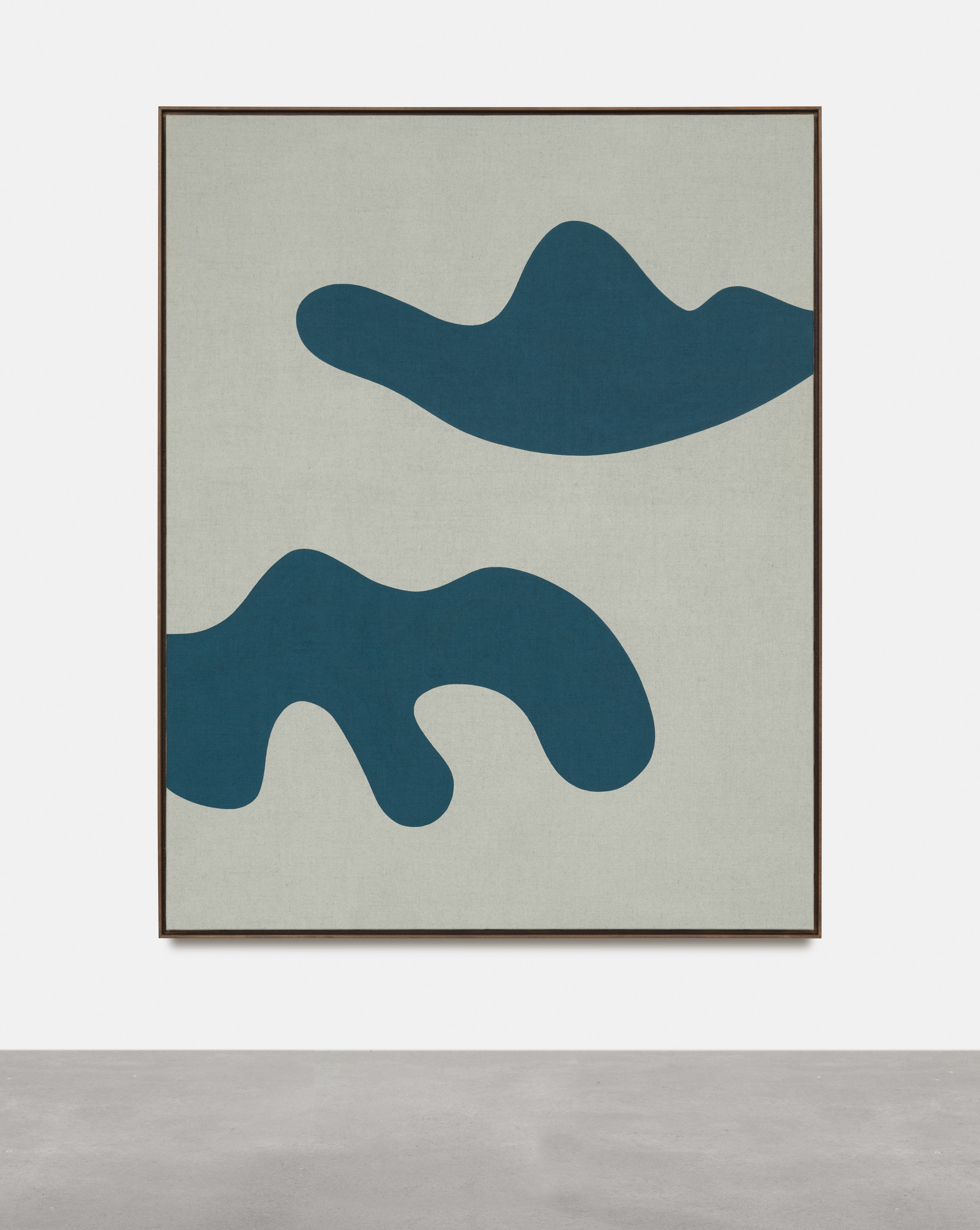 Antonio Ballester Moreno Clouds, 2021 Acrylic on jute 200×158 cm, Unique.