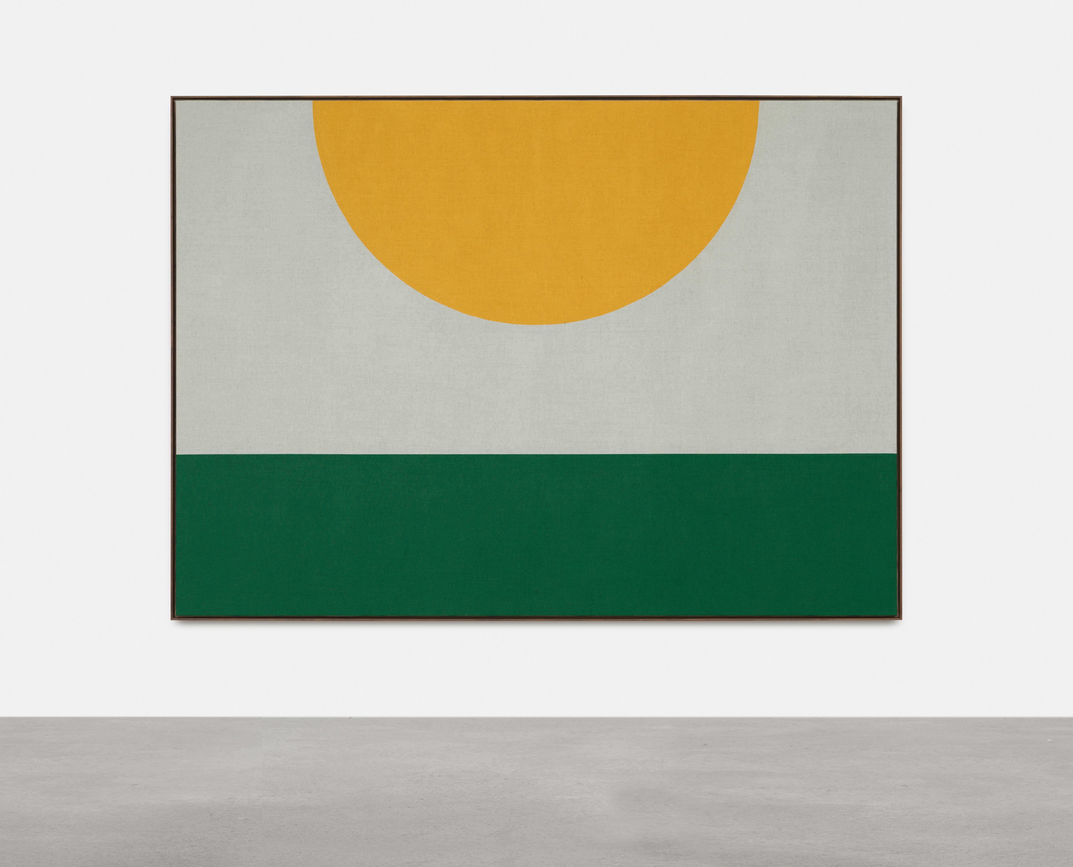 Antonio Ballester Moreno Midday, 2021 Acrylic on jute 200×280 cm, Unique.