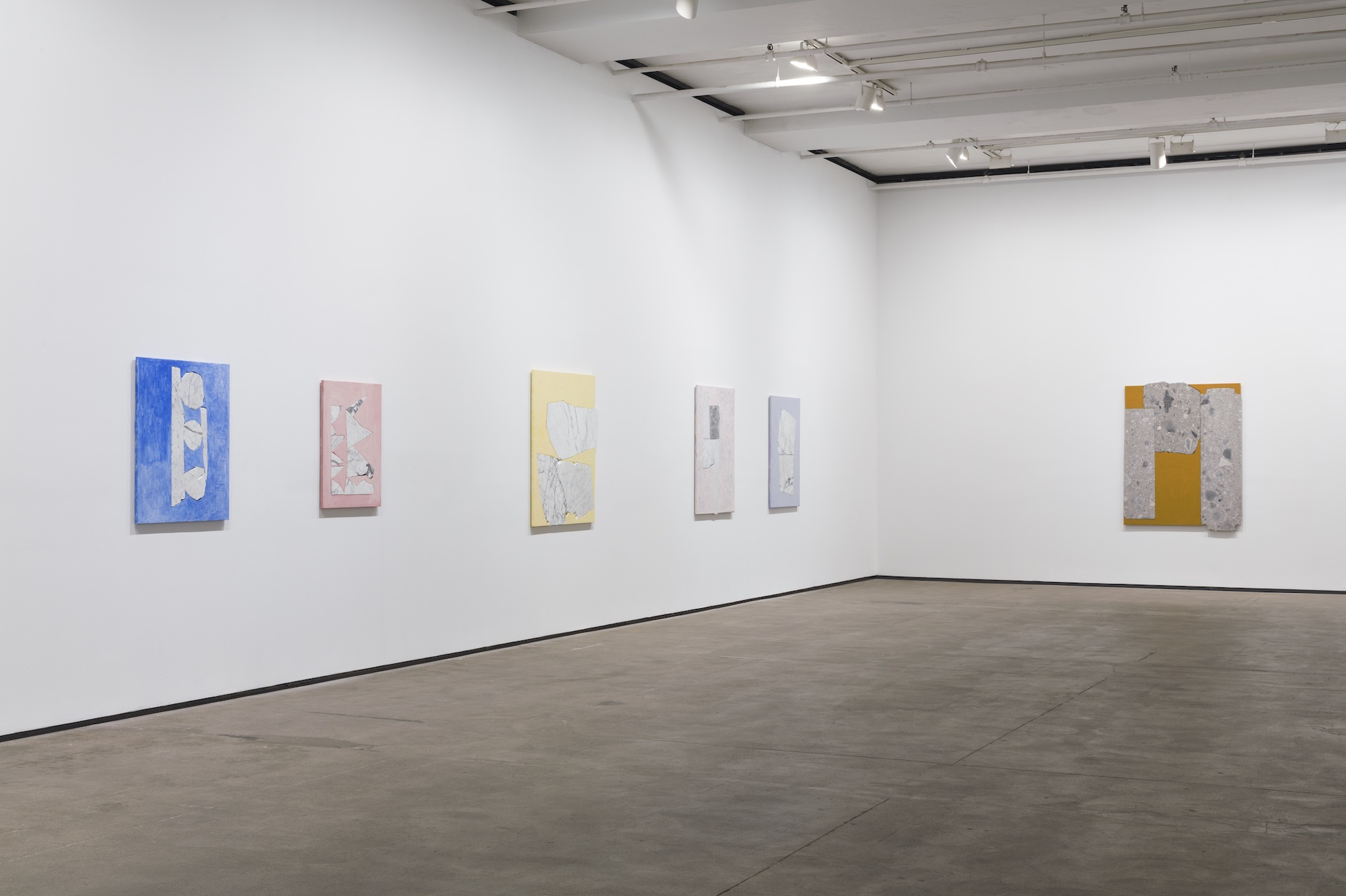 Installation view of Sam Moyer:Tone at Sean Kelly, New York March 12 – April 24, 2021 Photography: JSP Art Photography Courtesy: Sean Kelly, New York