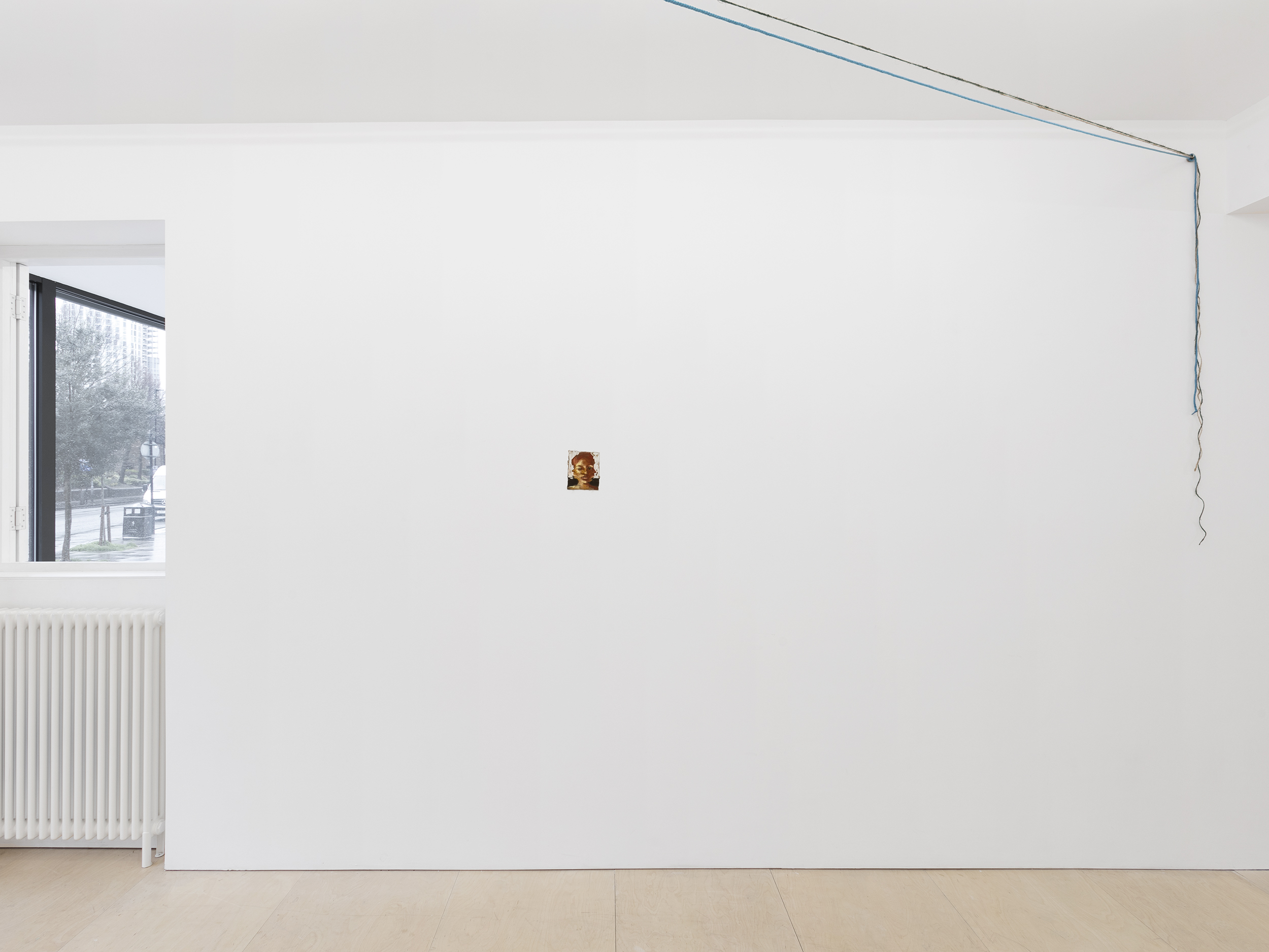 Installation view, A Grain Of Sand, The Sunday Painter, 2021. Images Courtesy of the Gallery