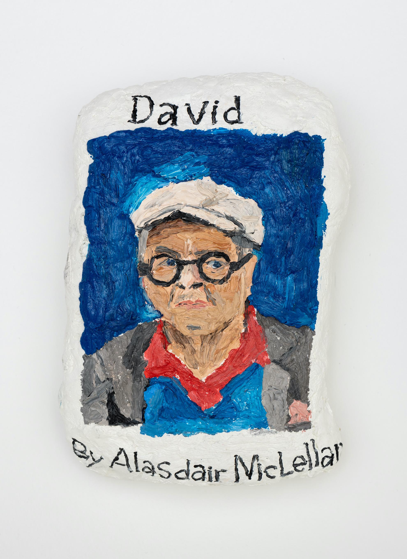 Sophie Barber David, 2021. Oil on canvas, 6 1⁄8 x 4 1⁄8 x 2 in (15.4 x 10.6 x 5 cm)