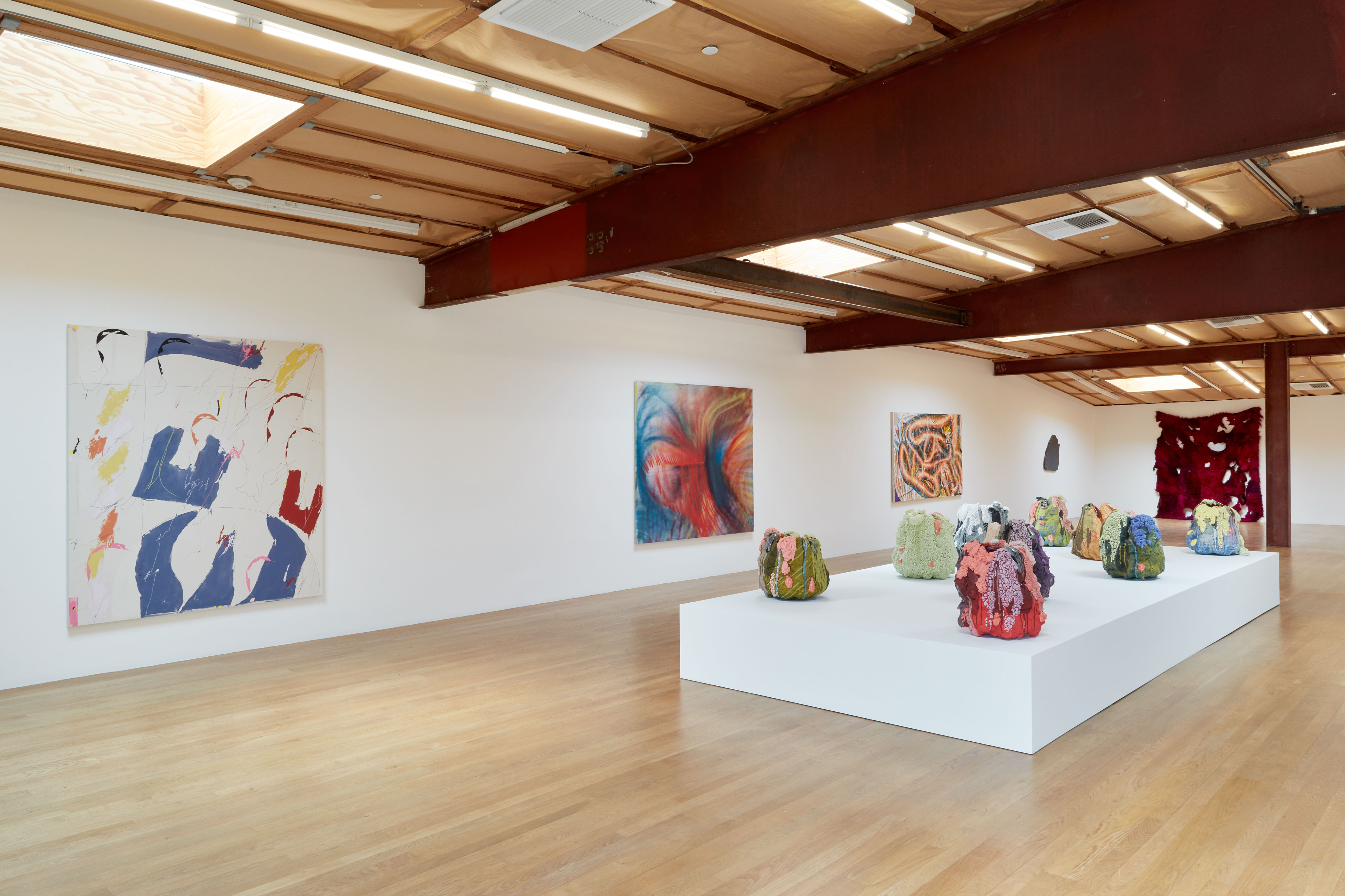 Installation view: On Boxing, Blum and Poe, Los Angeles, May 15 – June 26, 2021. Photo: Heather Rasmussen. Courtesy of the artists, Blum & Poe