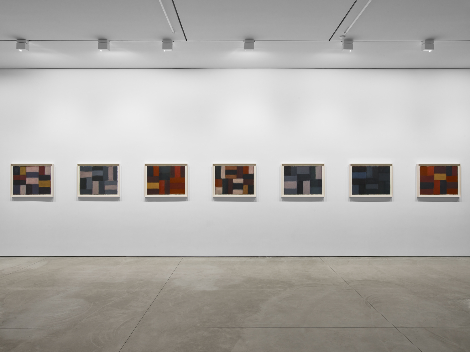 Sean Scully: The 12 / Dark Windows, Exhibition view. 508 West 24th Street and 447 West 17th Street, New York. 6 May – 18 June, 2021. © Sean Scully. Courtesy Lisson Gallery