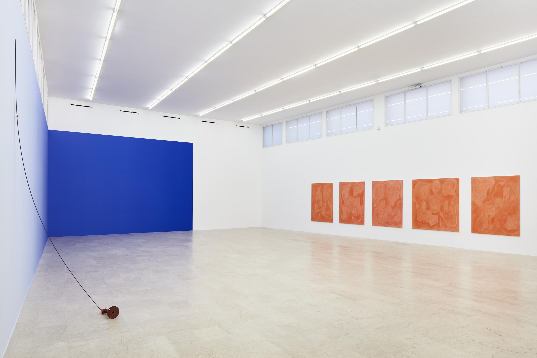 Installation view: Resonance, Riccardo Baruzzi & Pieter Vermeersch, P 420, 8 May – 23 July 2021. Photo: Carlo Favero. Courtesy: P420