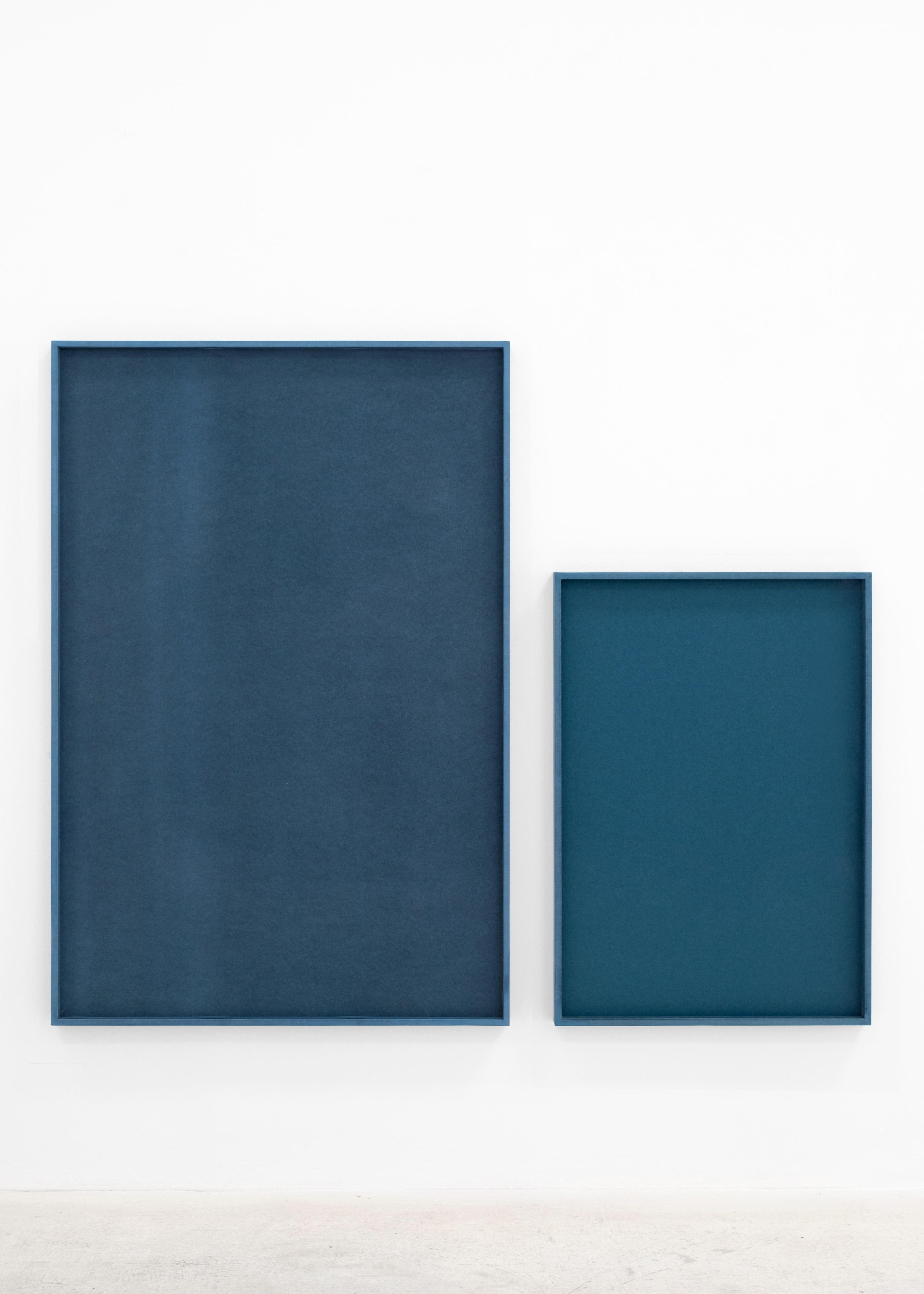 IRMA ÁLVAREZ LAVIADA S.T (Azul), 2021, Irma Álvarez-Laviada: TODO SE PARECE A ALGO , L21, 14 May – 23 June. Courtesy: L21 Gallery