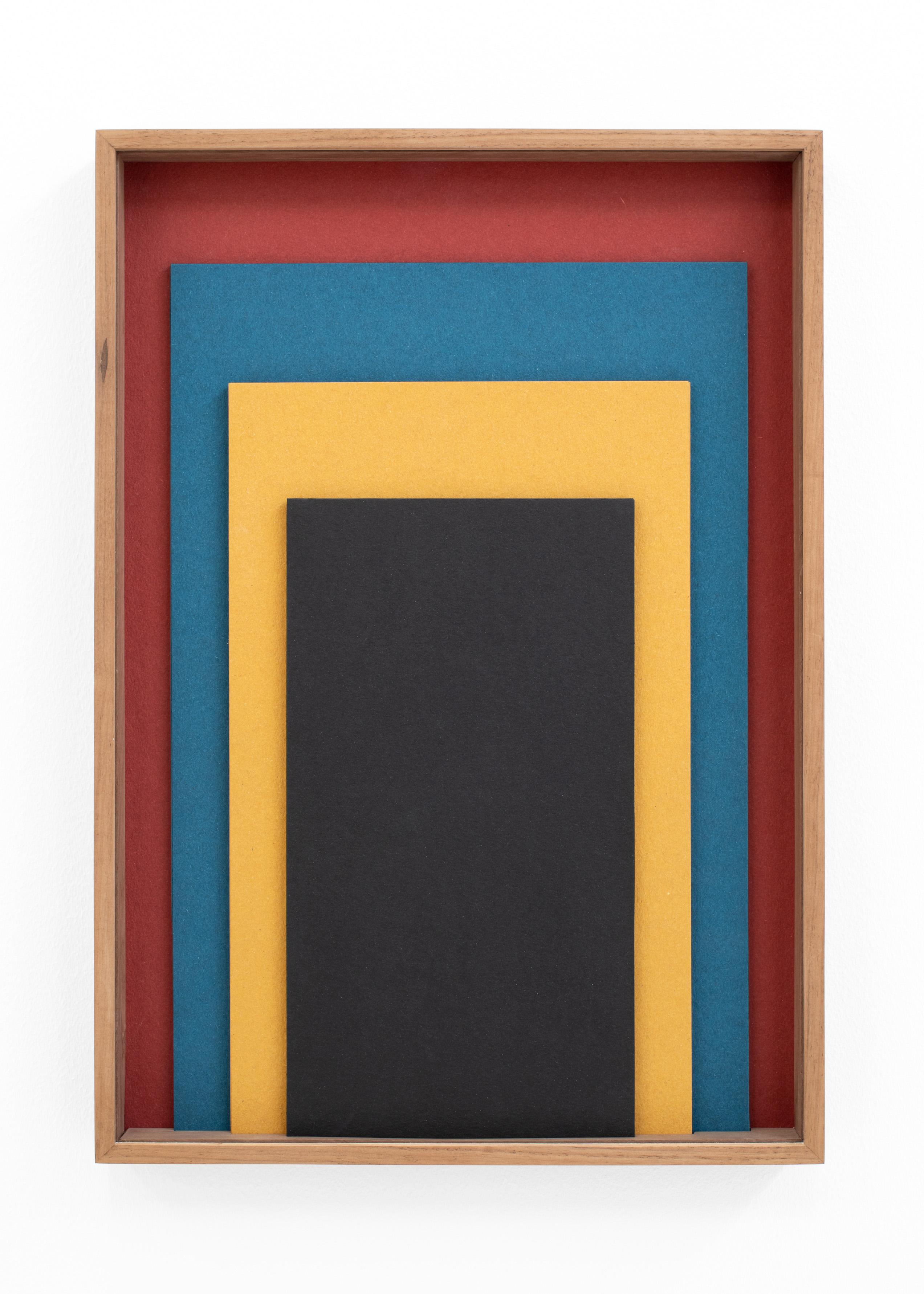 IRMA ÁLVAREZ LAVIADA S.T (Rojo, azul, amarillo, negro), 2021, Irma Álvarez-Laviada: TODO SE PARECE A ALGO , L21, 14 May – 23 June. Courtesy: L21 Gallery
