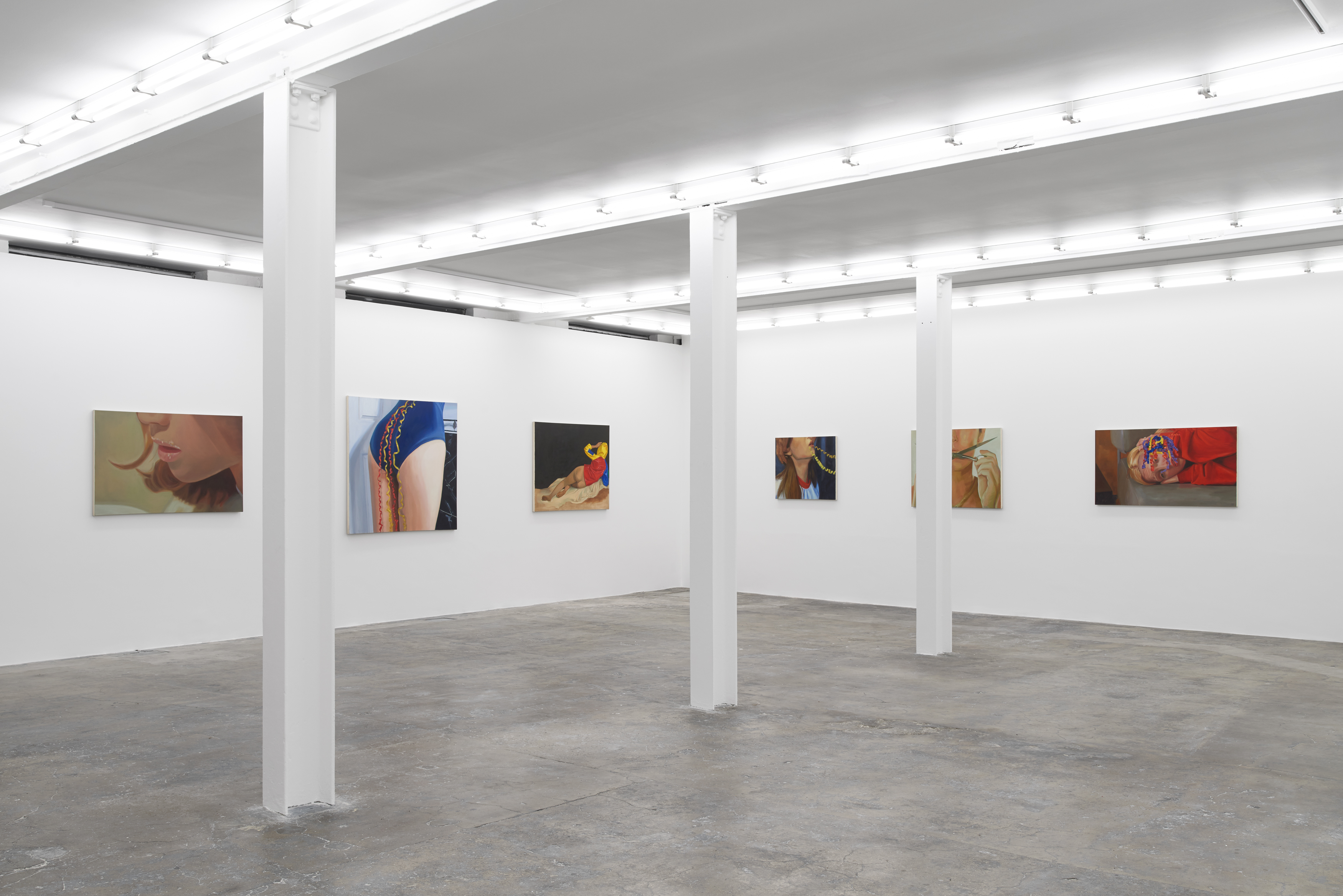 Installation view: Shannon Cartier Lucy: Cake on the Floor, Soft Opening, 2 June–31 July, 2021, Courtesy the artist and Soft Opening, London Photography Theo Christelis