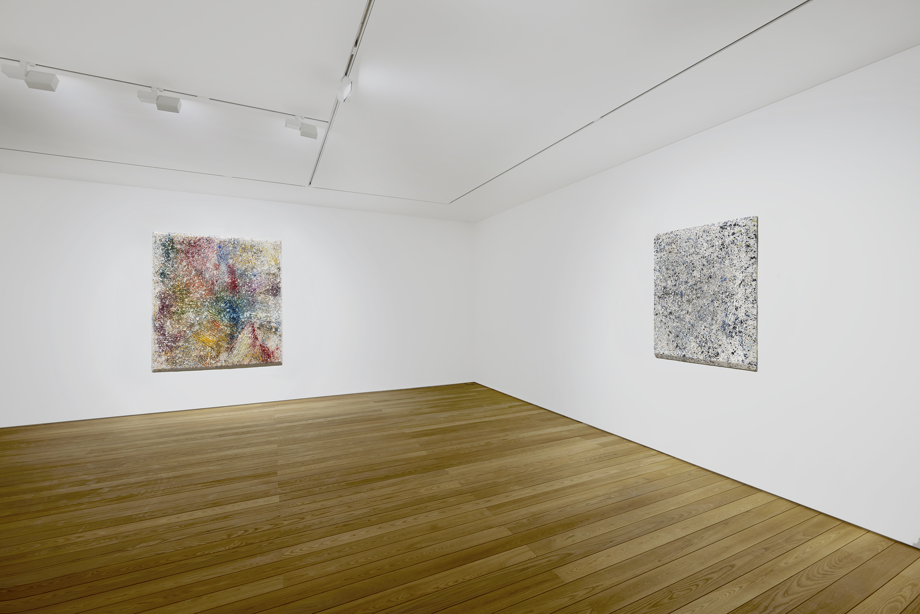 Installation view: Sam Gilliam 2-3/F, 267 Itaewon-ro, Yongsan-gu, Seoul May 27 – July 10, 2021 .Photography courtesy of Pace Gallery.