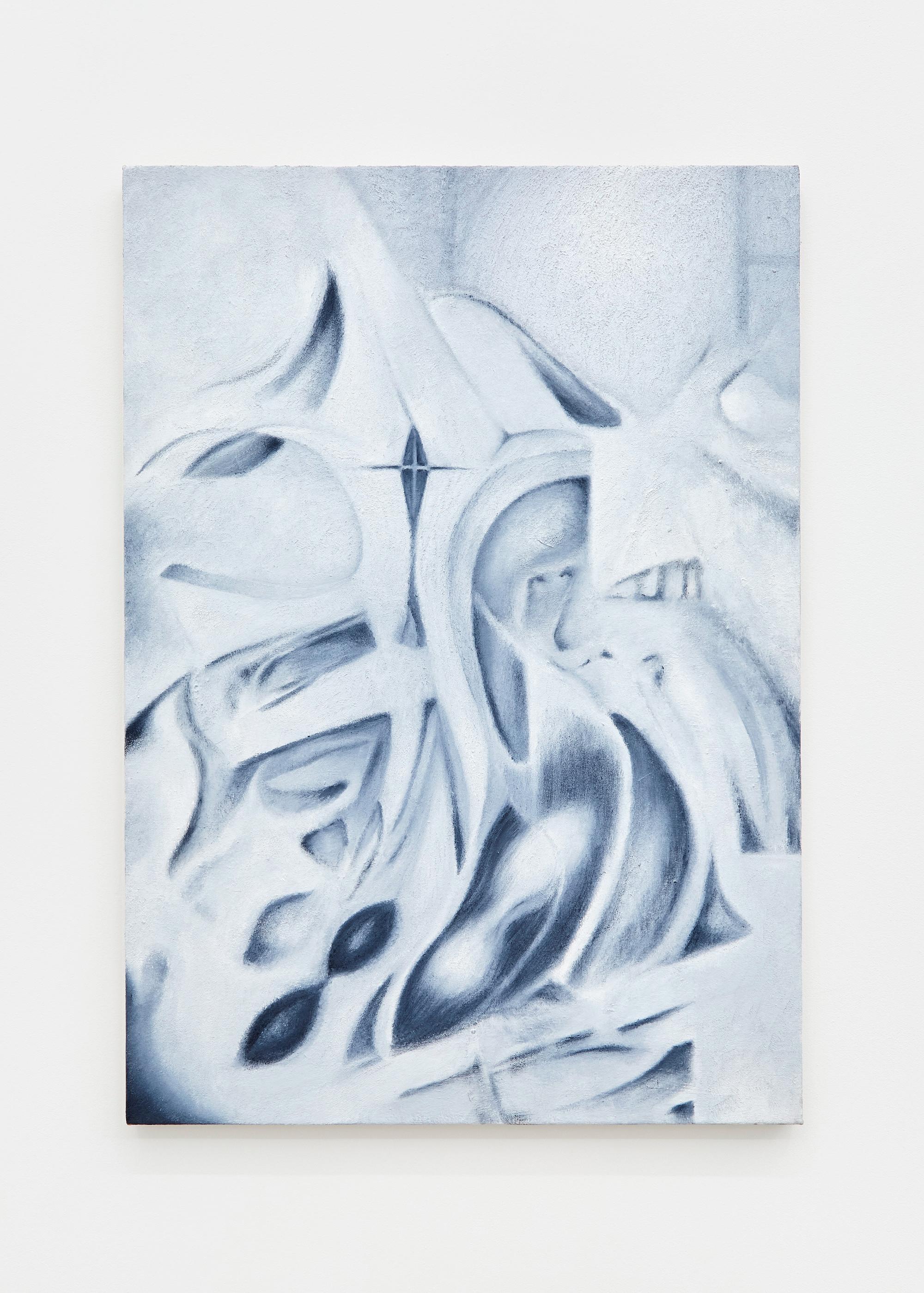 Kin-ting Li, 'Eidetic Maneki-neko', 2020. Oil on canvas, 87 x 61 cm. photo: Corey Bartle Sanderson