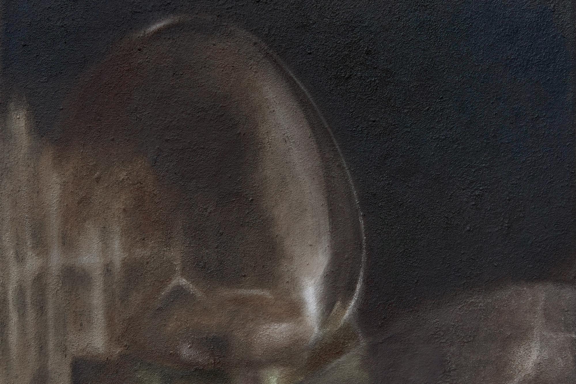 Kin-ting Li, 'Hidden path', 2021. Oil on canvas, 30 x 40 cm. photo: Corey Bartle Sanderson