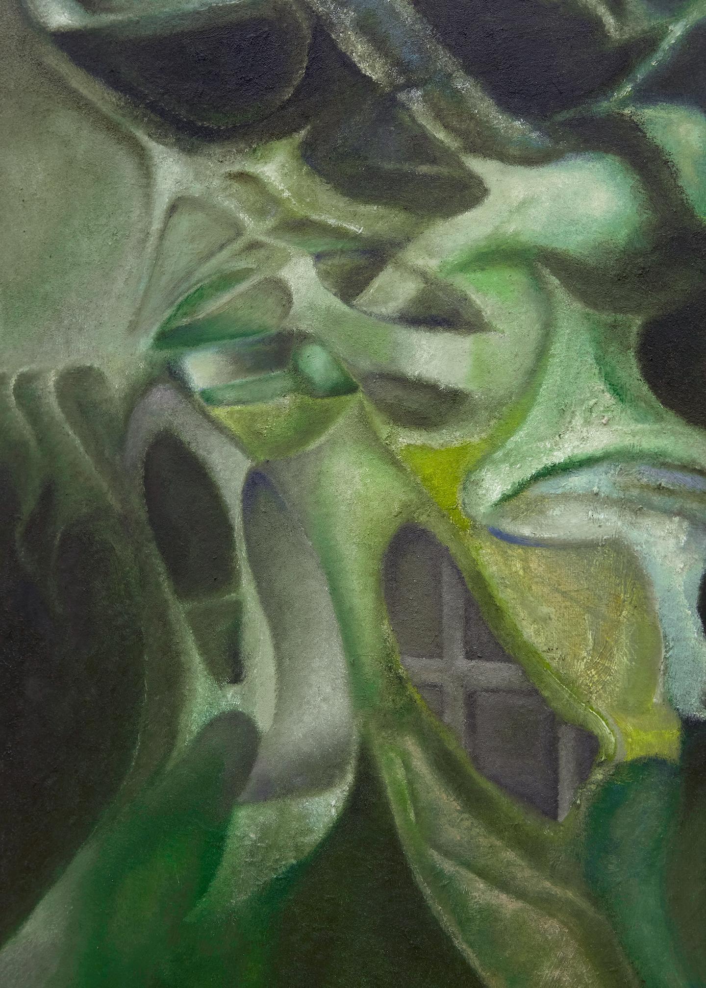 Kin-ting Li, 'Syntheses', 2020. Oil on canvas, 60 x 50 cm.photo: Corey Bartle Sanderson