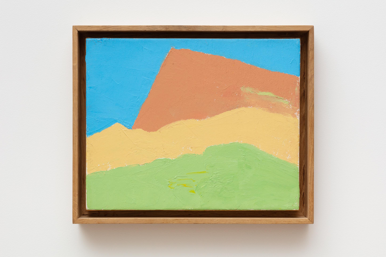 Etel Adnan Untitled , 2010 Oil on canvas 20 x 25 cm