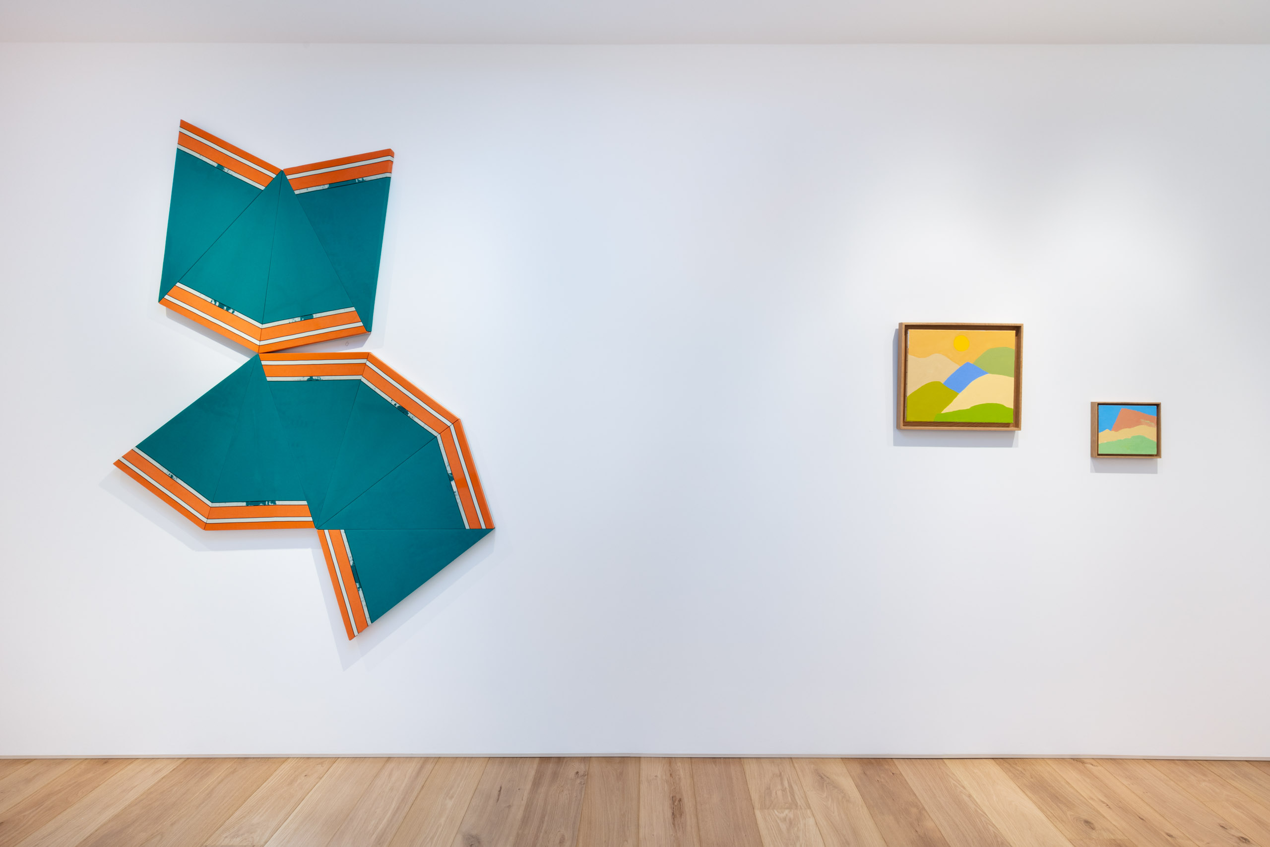 Installation view, To Situations New, Lamb, London, 2021, Courtesy of the gallery