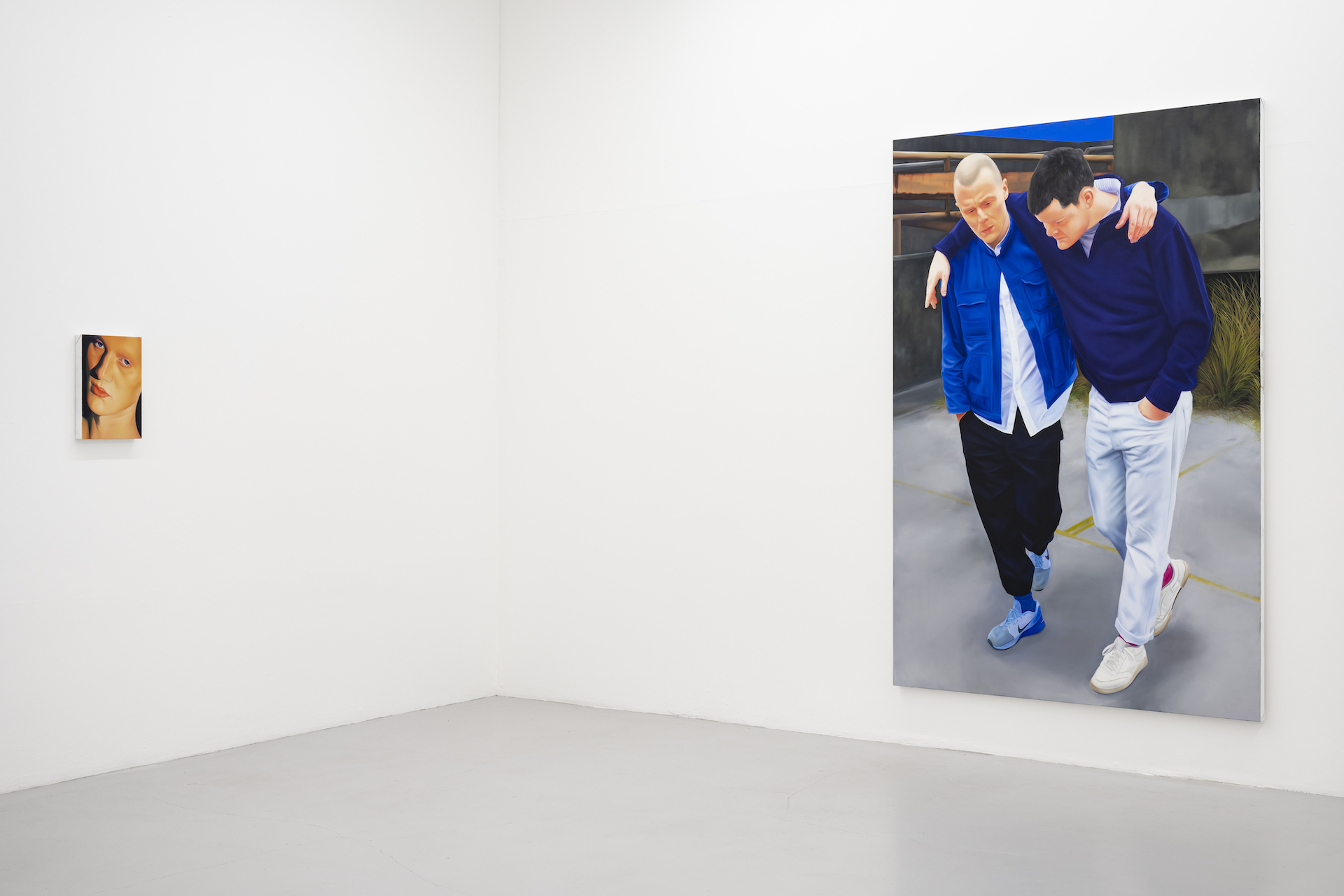 Installation view: Christopher Hartmann: In and out of touch, 3 June – 31 July, Hannah Barry. Courtesy of Hannah Barry