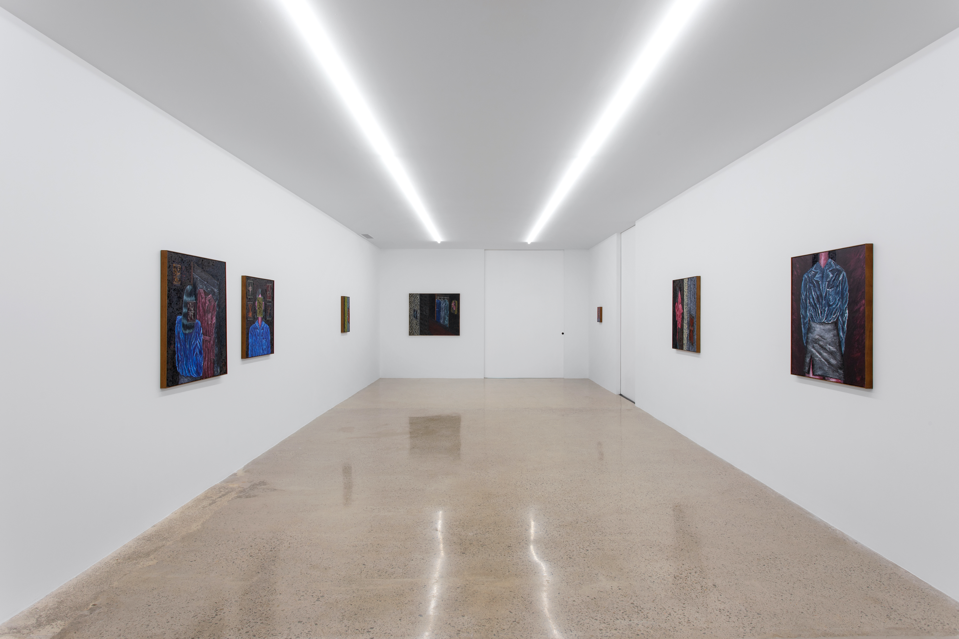 Installation View, Stevie Dix, Sad Girl Surrealism, courtesy of the artist and L21 Gallery, Palma, Islas Baleares, Spain