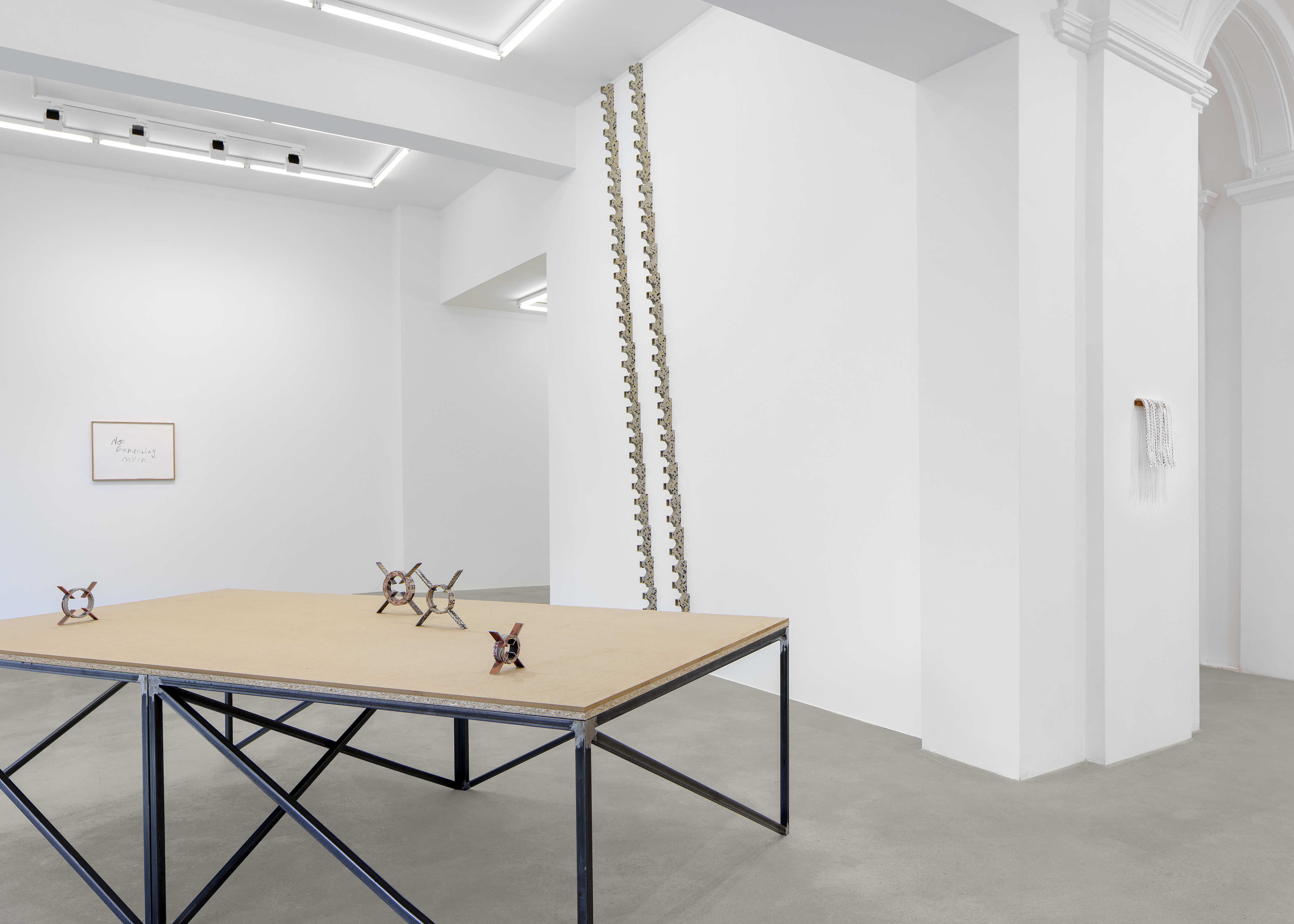 Installation view, 'distant borrowing'. Photography: Gunter Lepkowski. All images courtesy of the artist and Tanya Leighton, Berlin.