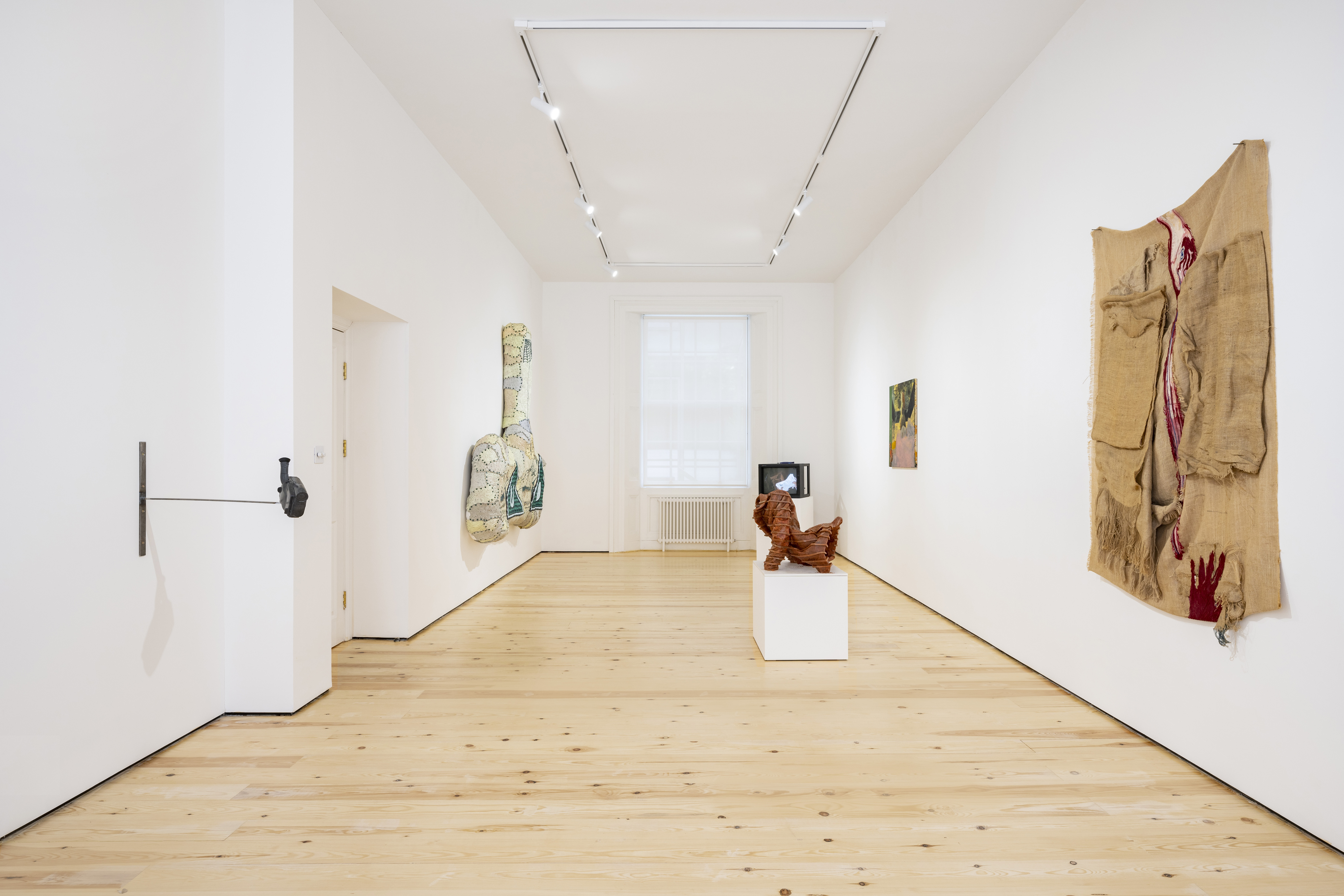 Installation view of 'Corps', MAMOTH, London. All images copyright and courtesy of the artists and MAMOTH, London. Photographed by Damian Griffiths.
