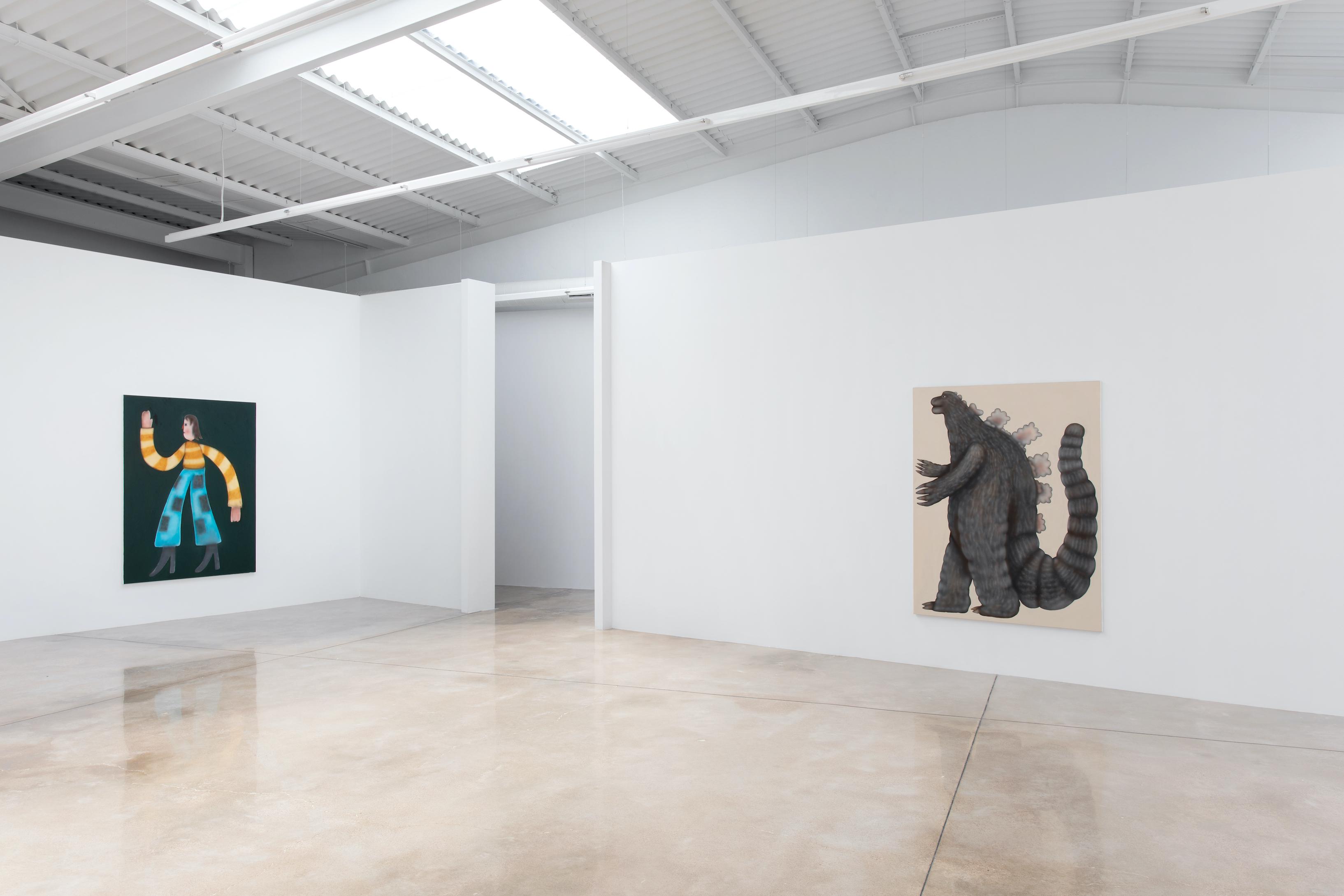 Installation View, Buff Titan, L21, Palma, 2021, Courtesy of the Gallery and the artist, Photography - Natasha Lebedeva