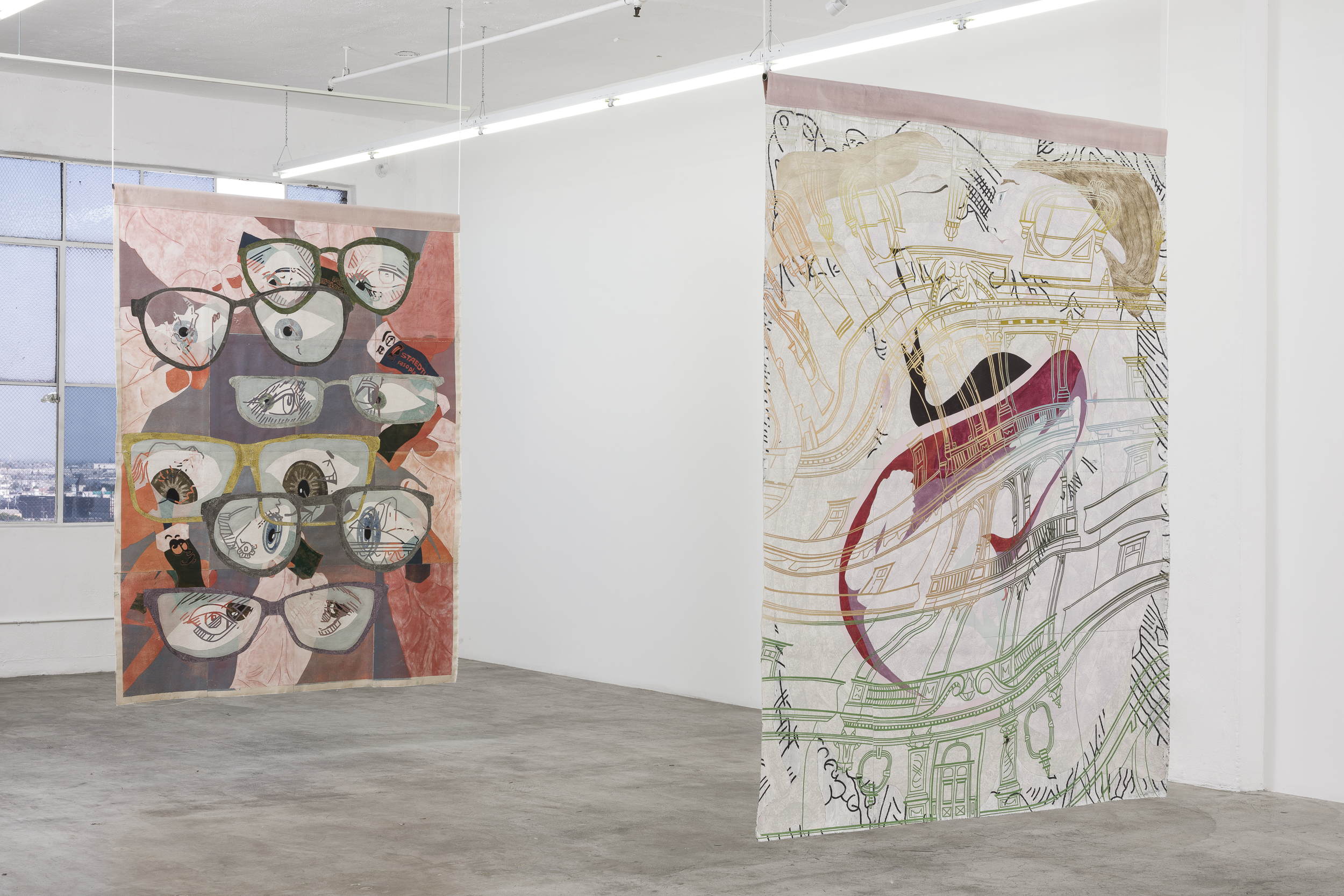 Pieces of Work, 2021, Installation view, Los Angeles, Courtesy of the artist and the Gallery