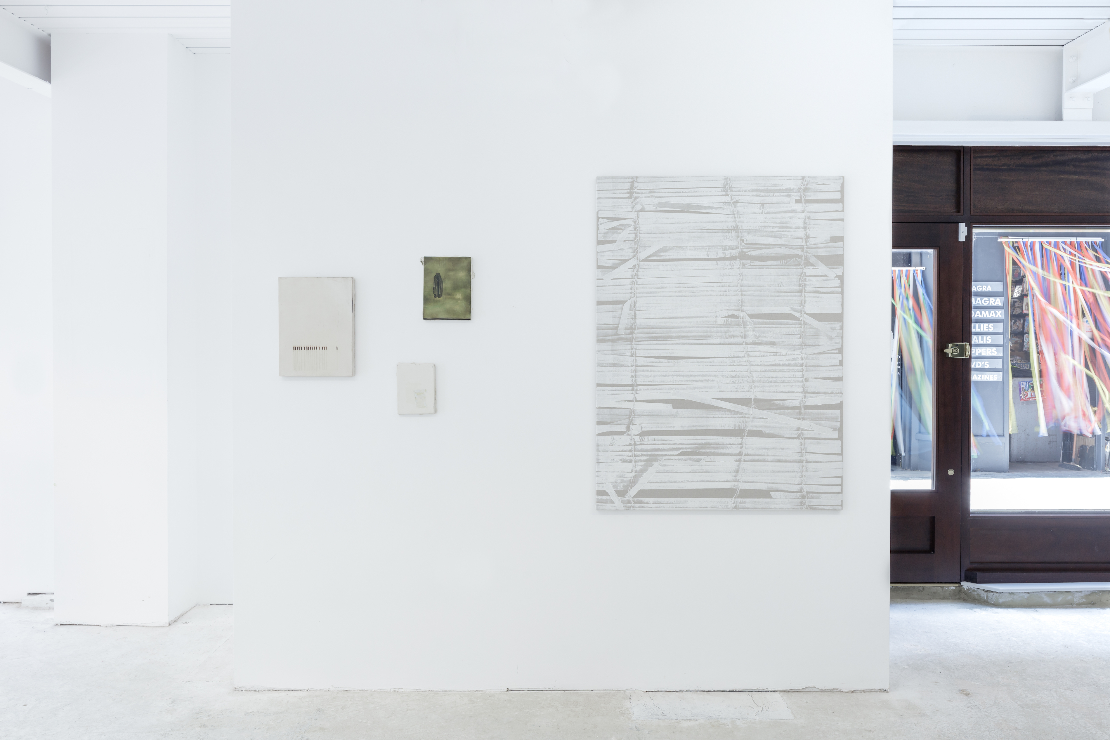 Installation View, Oceans of Milk, 2021, London, Courtesy of the gallery, Photos by James Retief