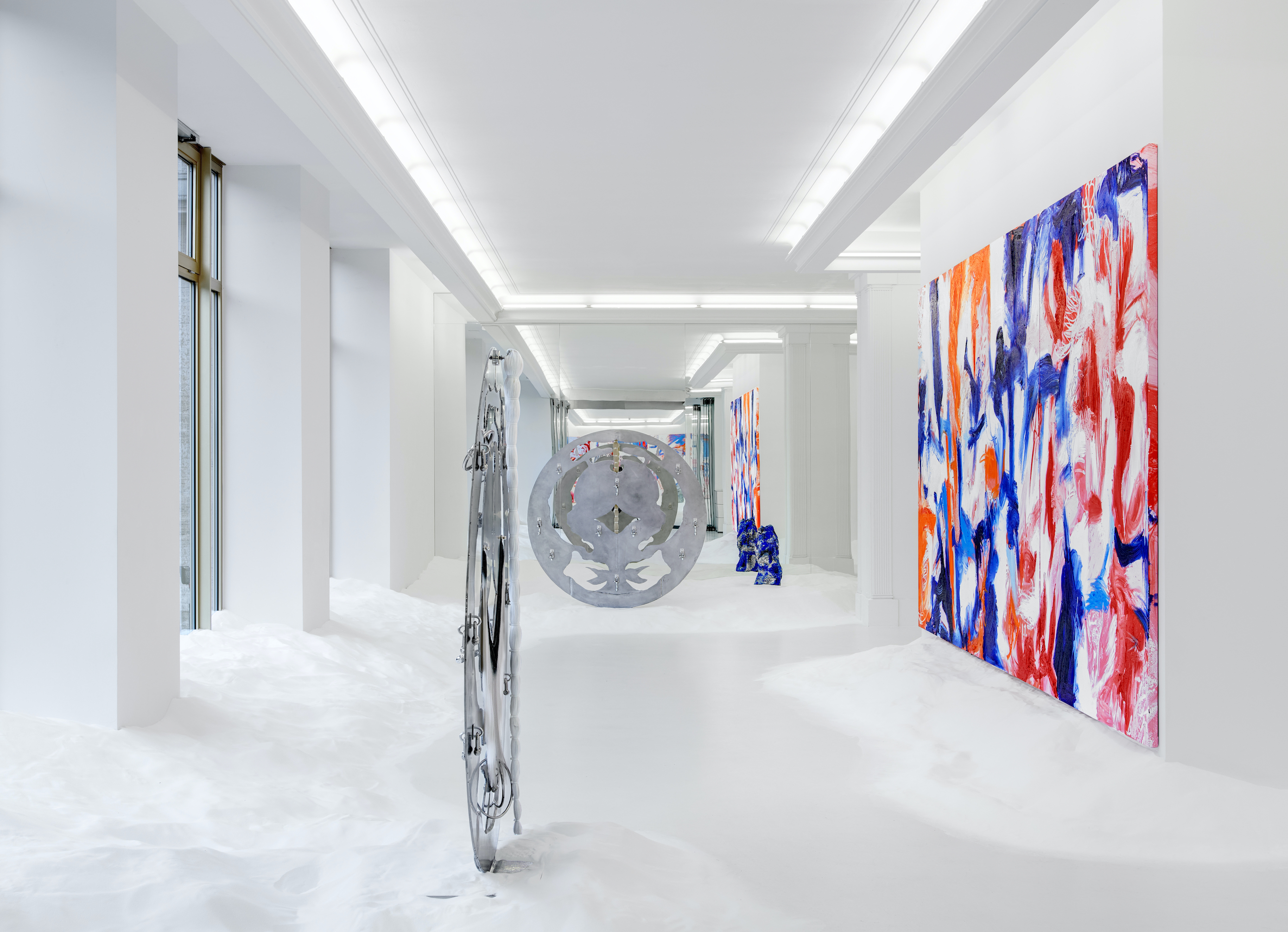 Donna HUANCA, OBSIDIAN MIRROR, September 1 – October 3, 2021, Peres Projects, Berlin, Courtesy Peres Projects, Berlin, Photographed by: Matthias Kolb